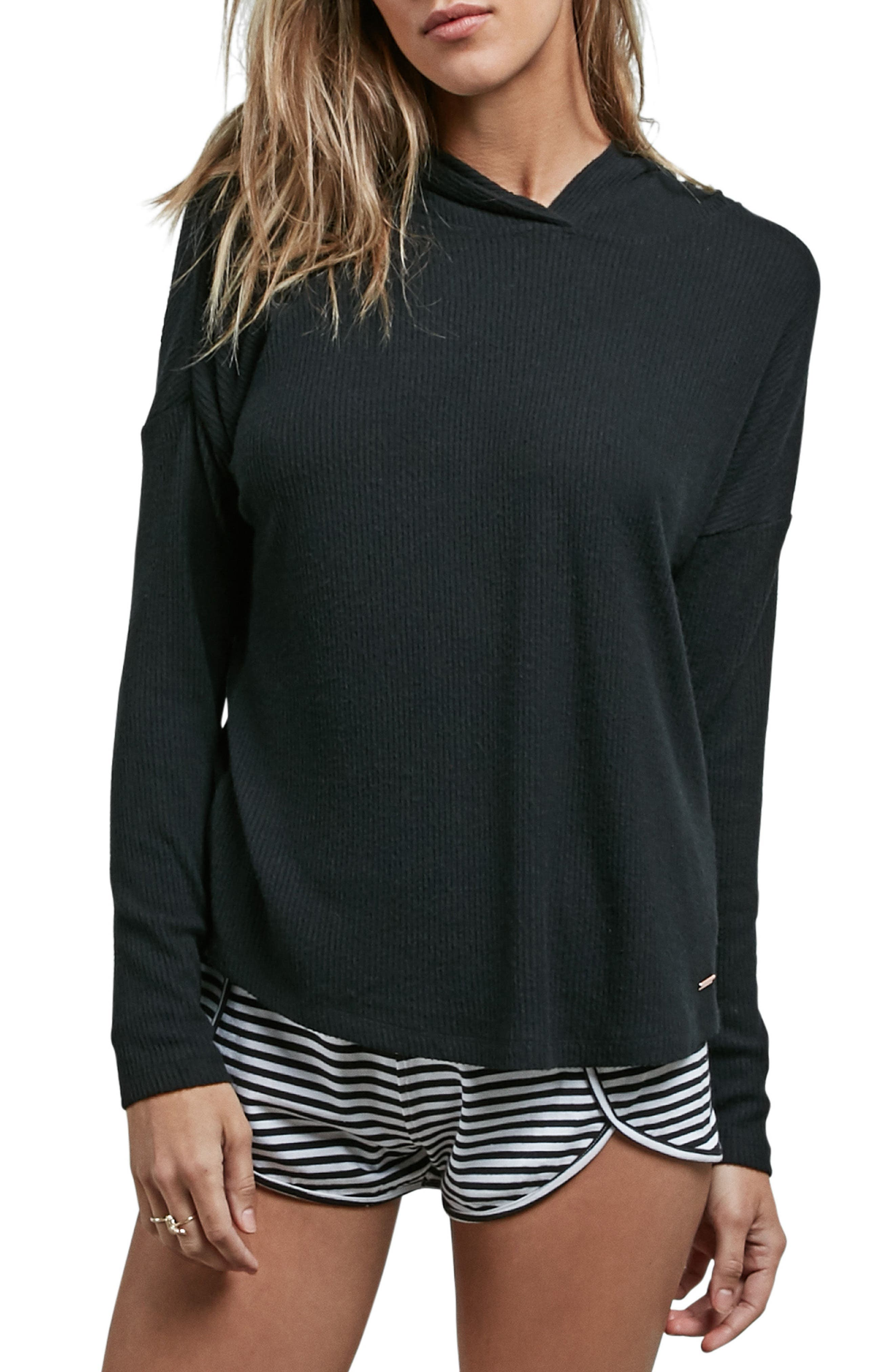 Lil Hooded Tee,                         Main,                         color, 001