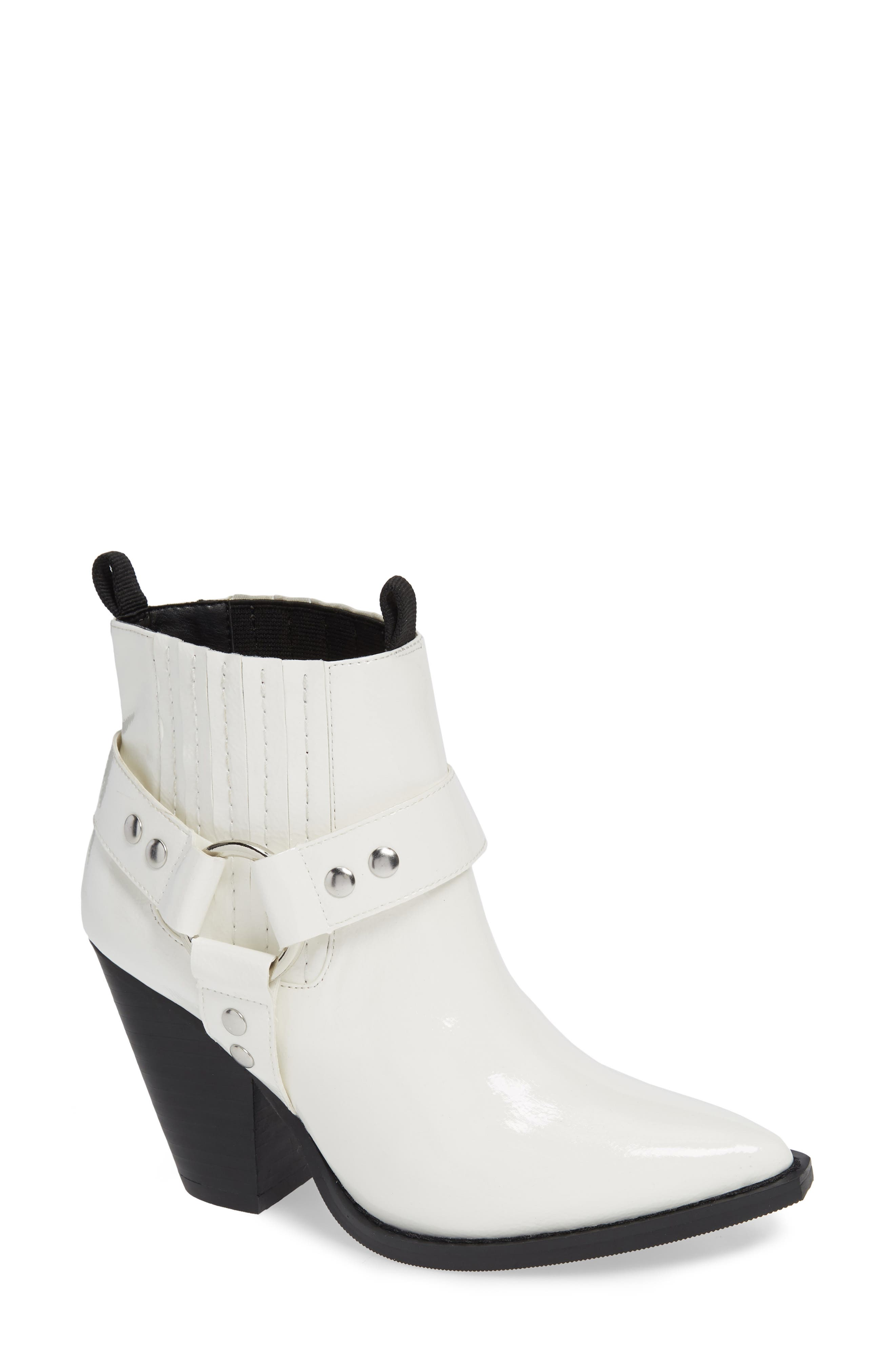 Jane And The Shoe Lincoln Bootie, White