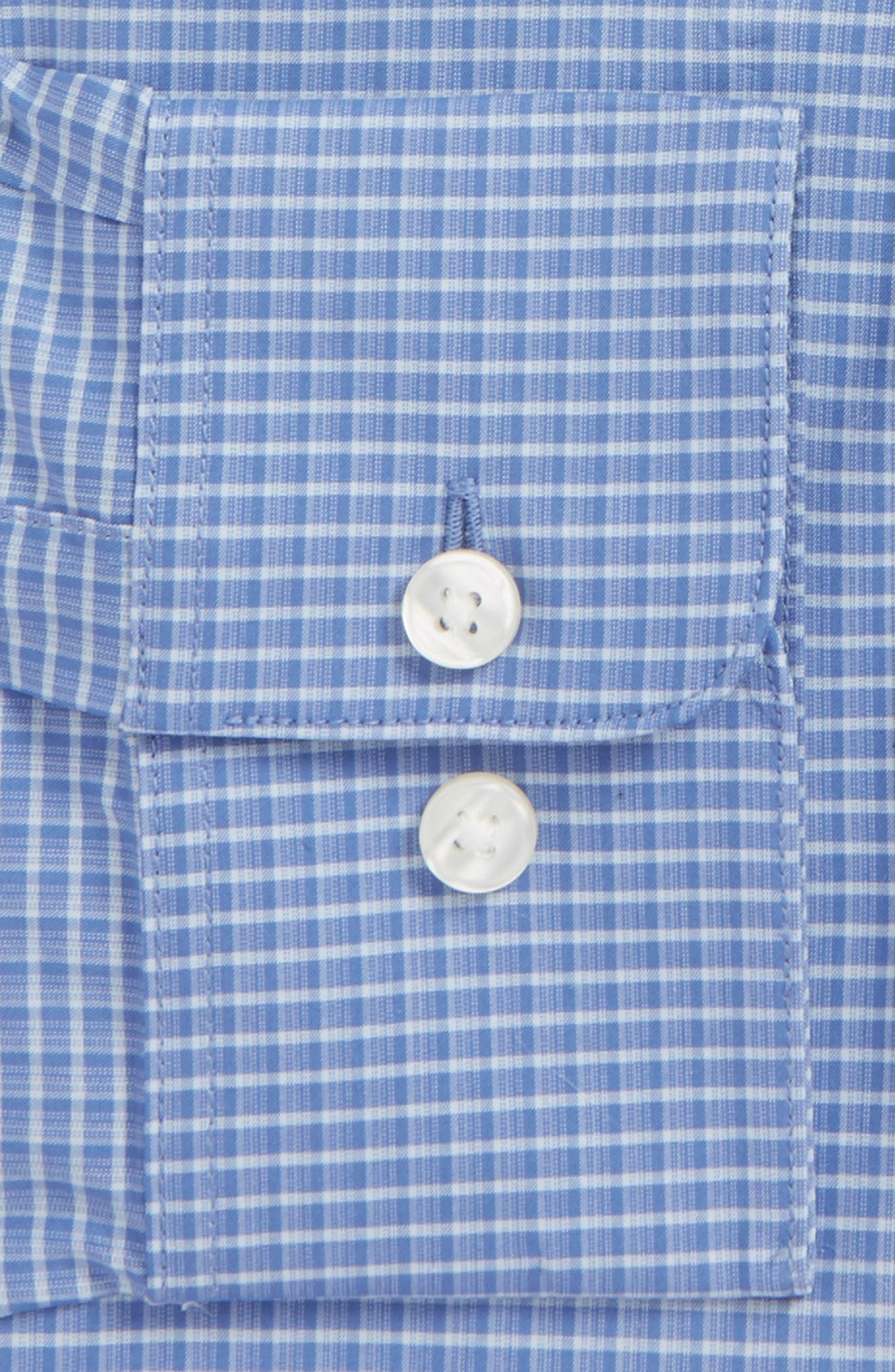 Regular Fit Stretch Plaid Dress Shirt,                             Alternate thumbnail 2, color,                             433