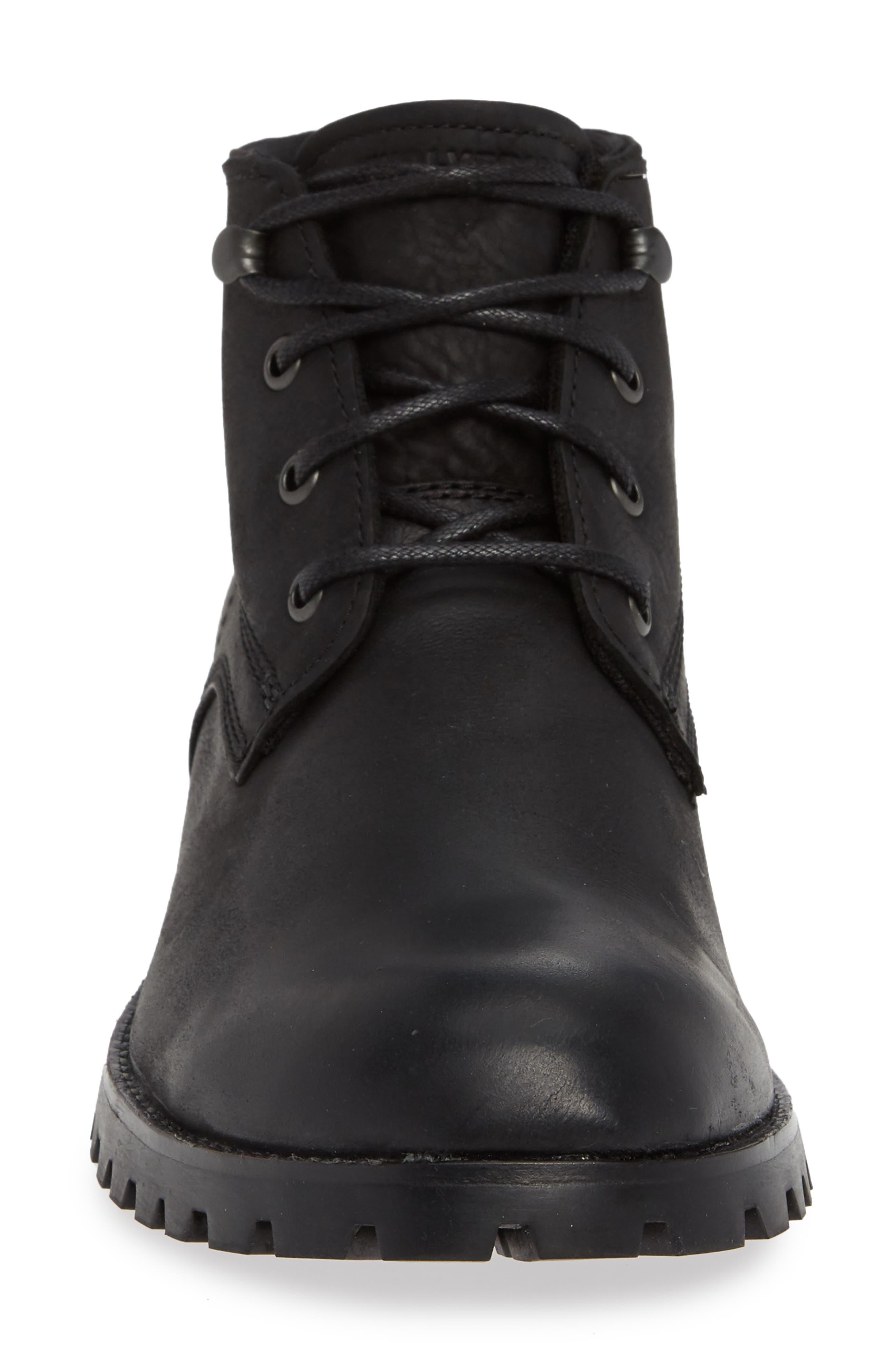 WOLVERINE,                             Cort Plain Toe Waterproof Boot,                             Alternate thumbnail 4, color,                             MEDIUM BLACK