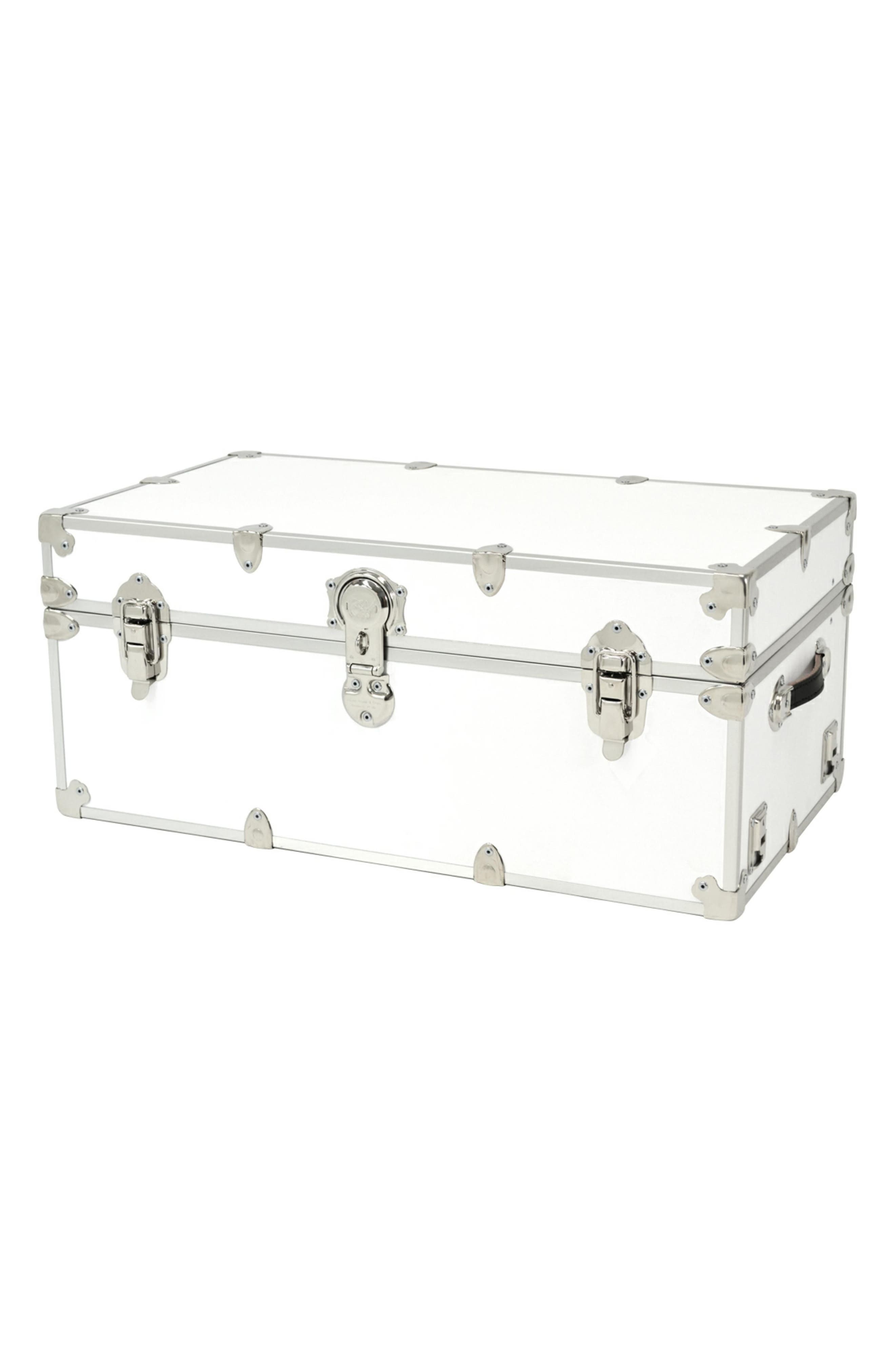 Rhino Trunk  Case Large Armor Trunk Size One Size  White