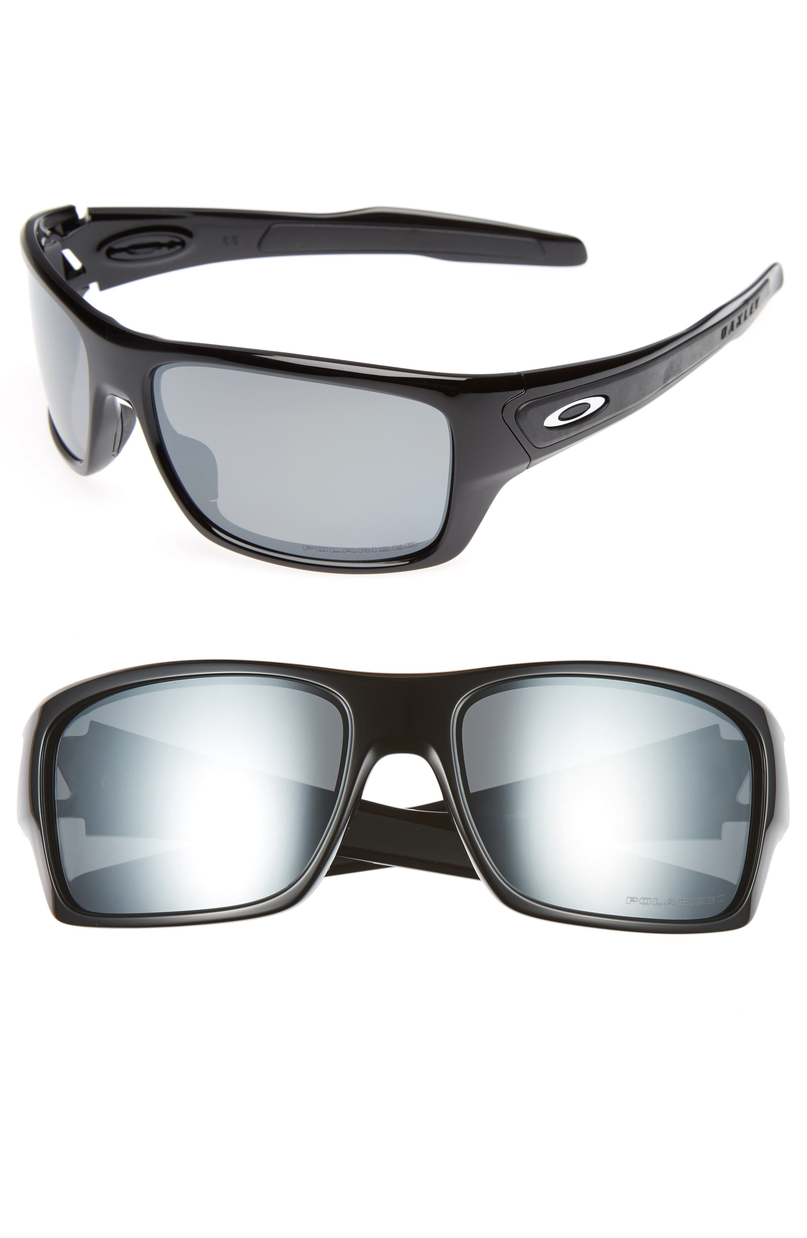 Oakley Turbine 65Mm Polarized Sunglasses -
