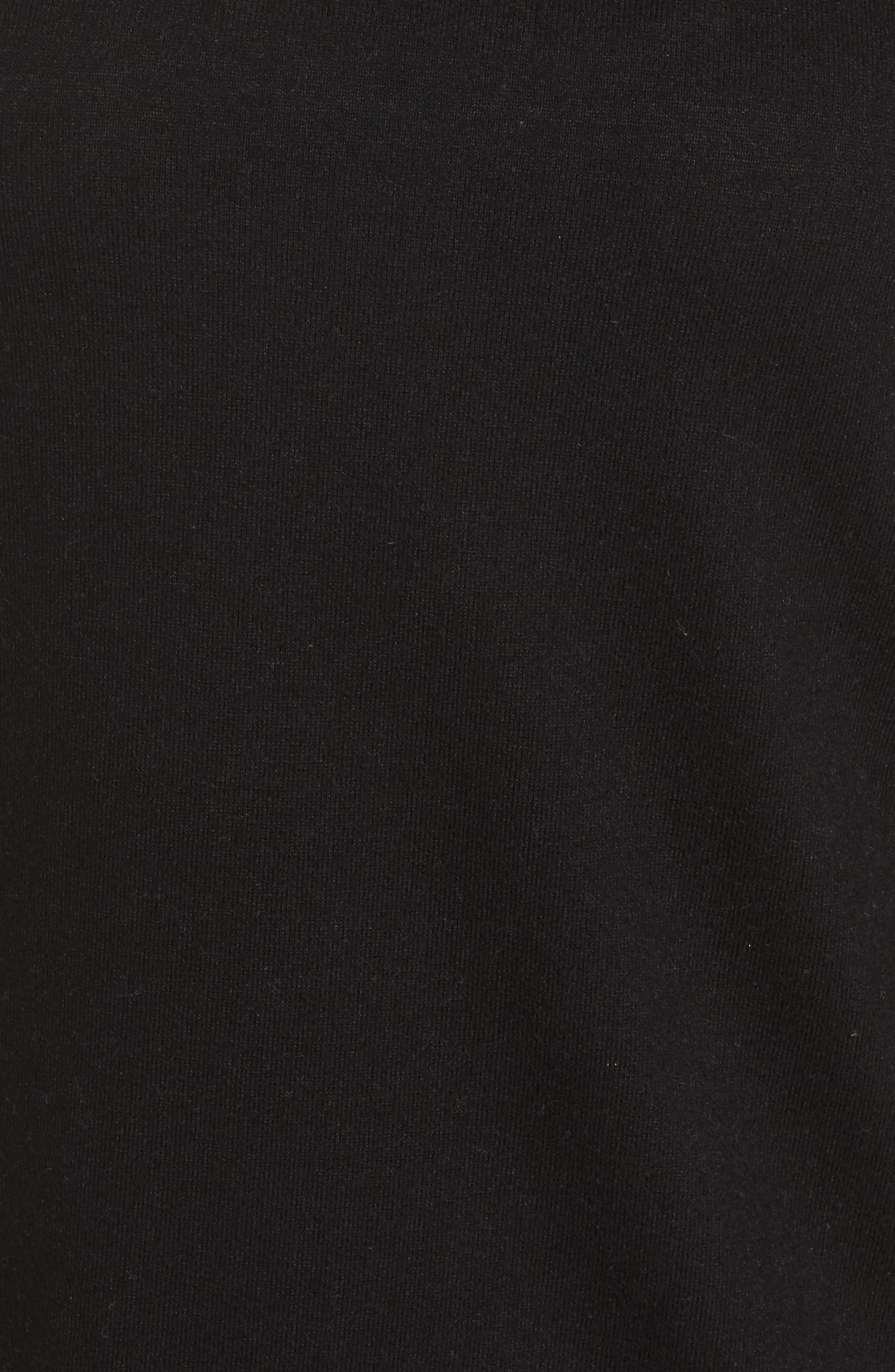 Lace Detail Cold Shoulder Top,                             Alternate thumbnail 5, color,                             006