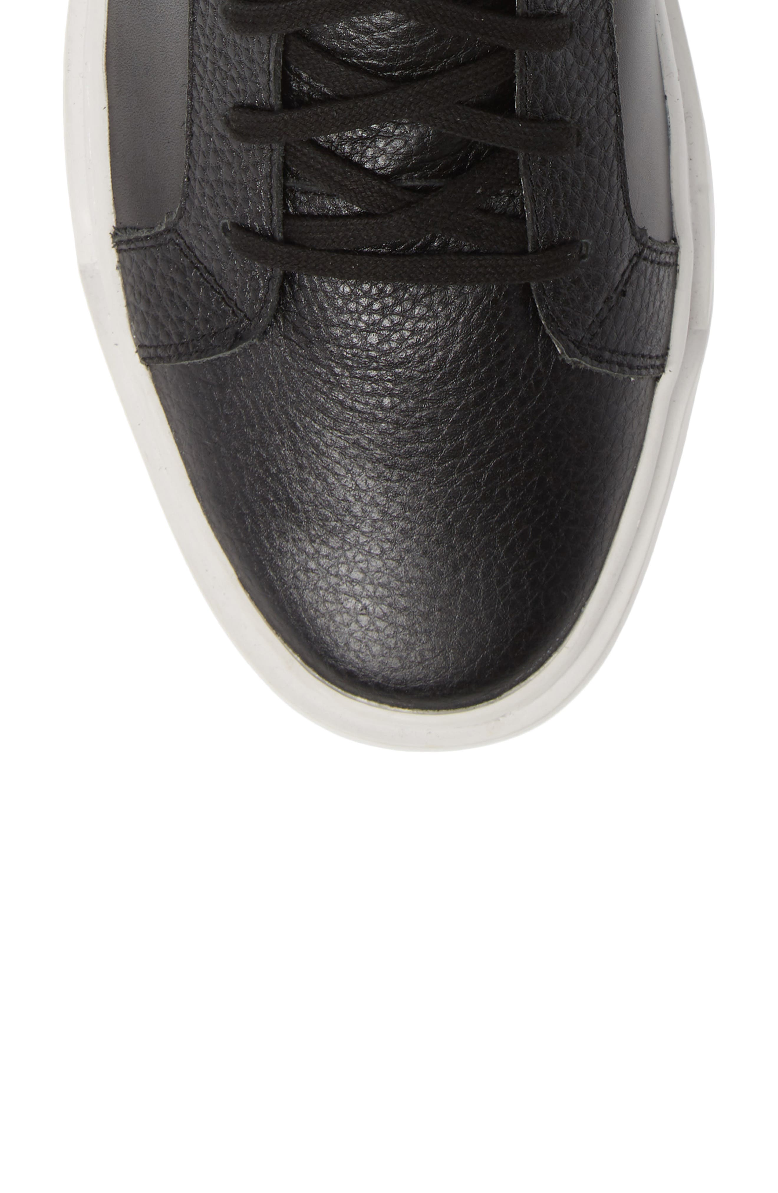 Logan High Top Sneaker,                             Alternate thumbnail 5, color,                             HIGHLAND LEATHER