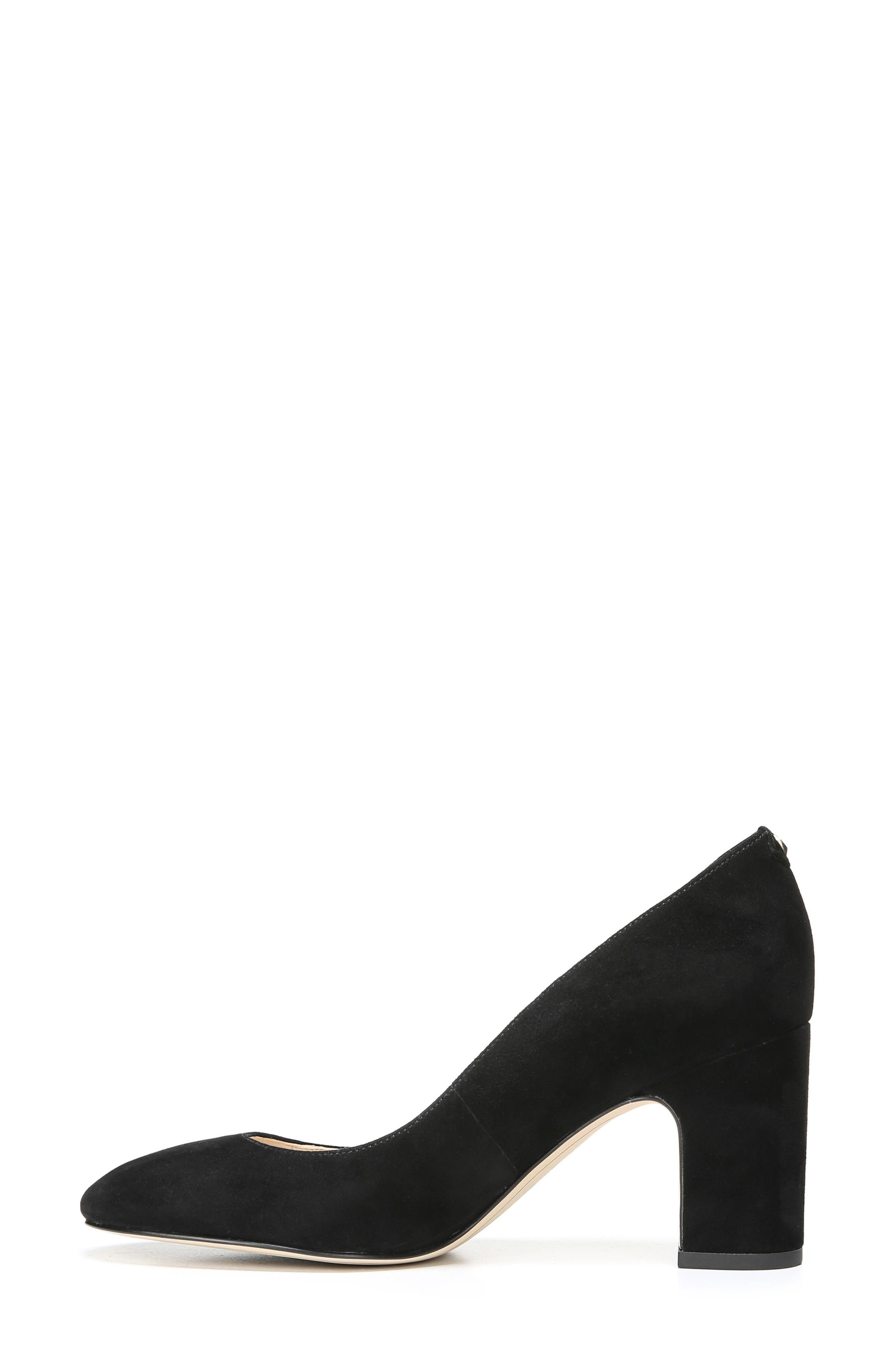 Junie Genuine Calf Hair Pump,                             Alternate thumbnail 3, color,                             001