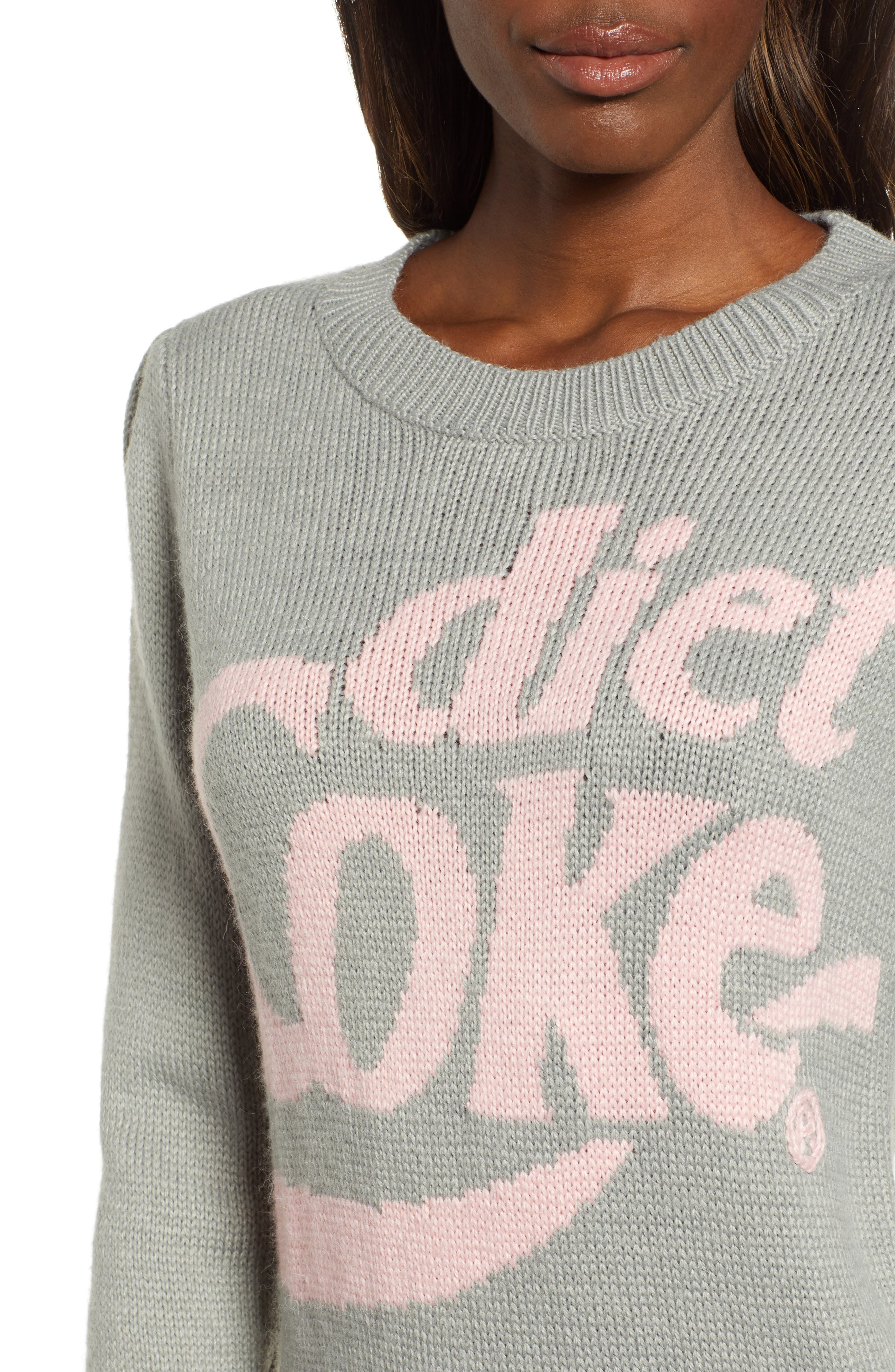 WILDFOX,                             Diet Coke<sup>®</sup> Sweater,                             Alternate thumbnail 4, color,                             050