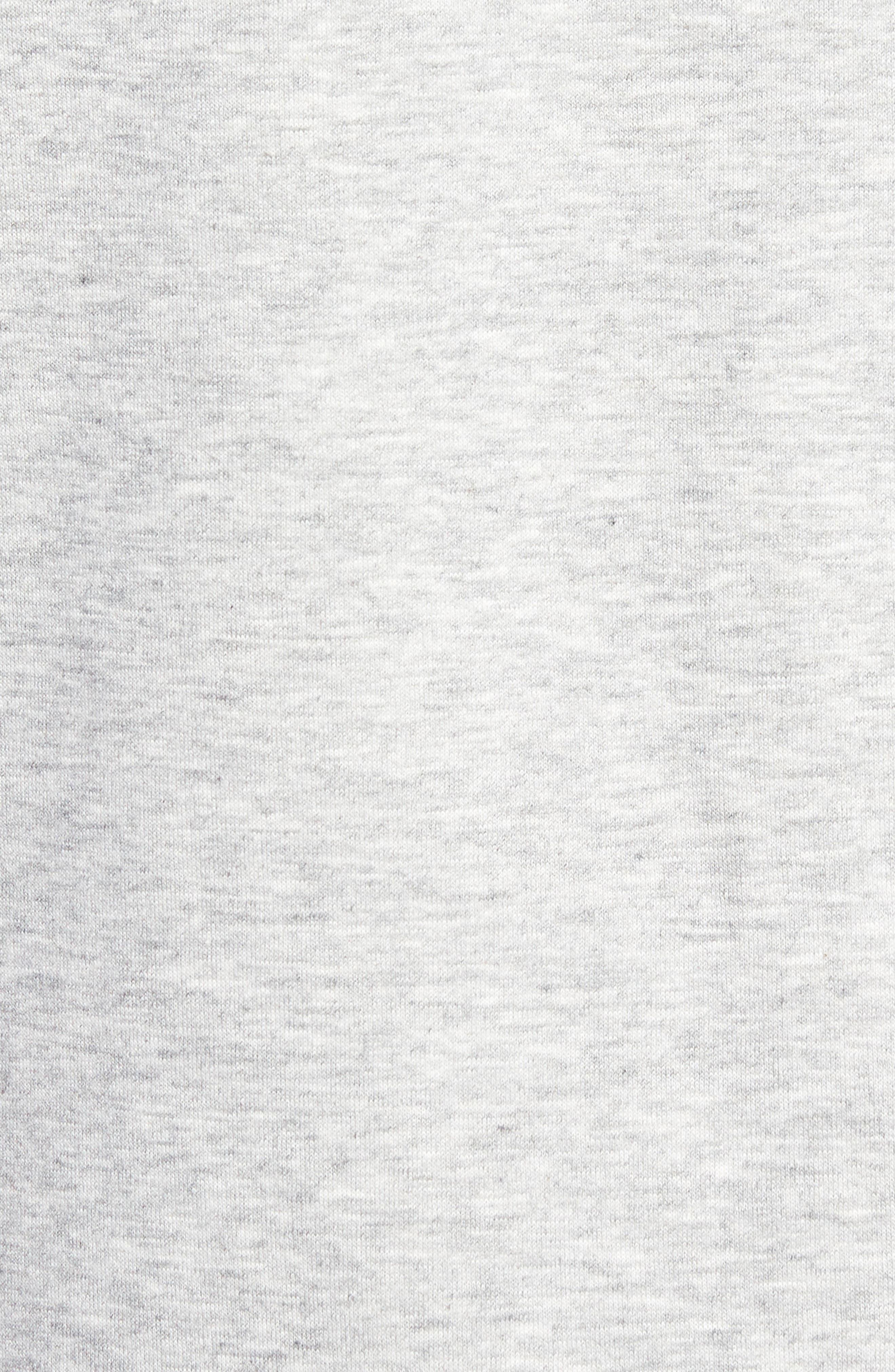 Tommy Classics Crewneck Sweatshirt,                             Alternate thumbnail 5, color,                             LIGHT GREY HEATHER