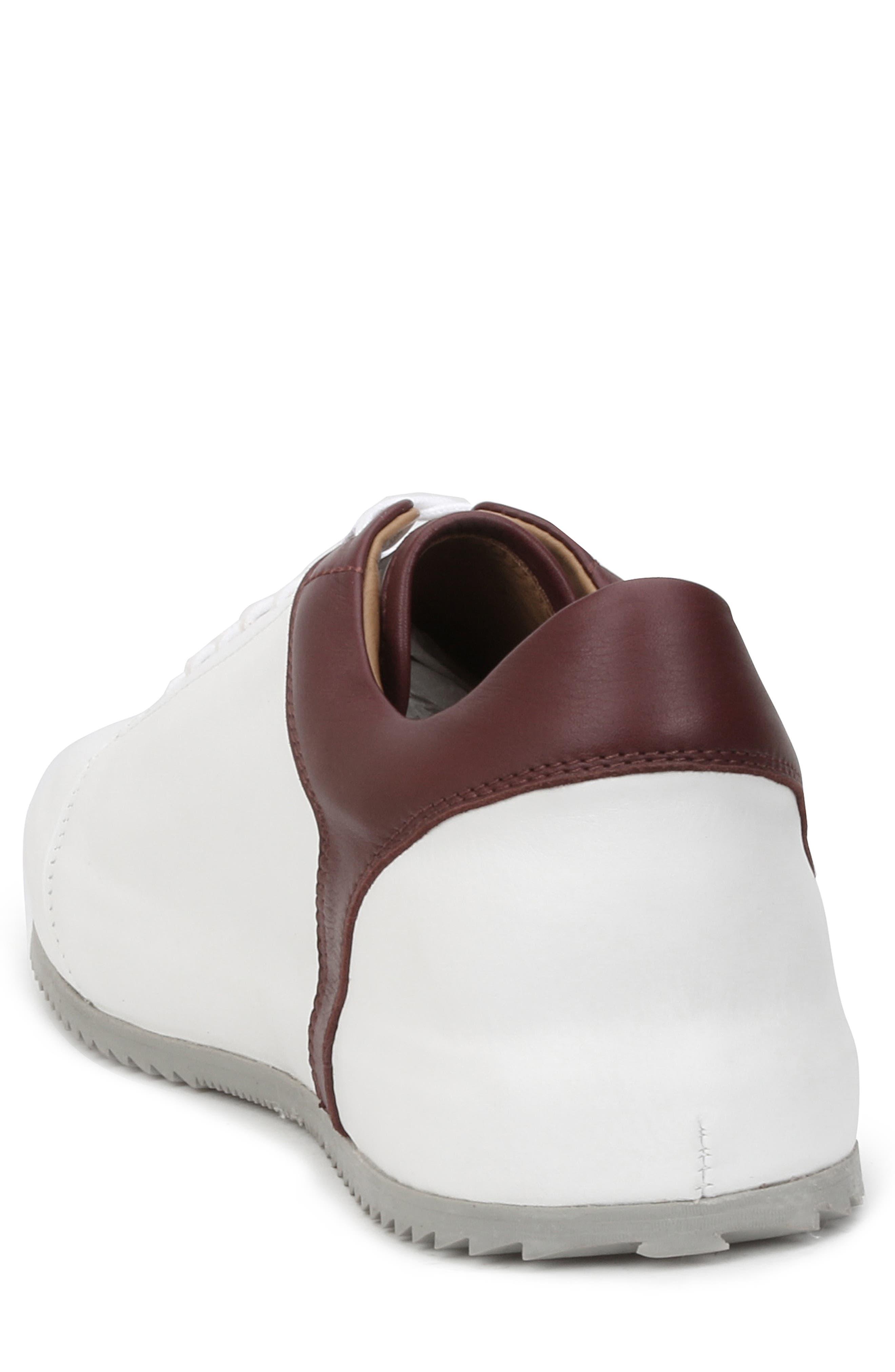 Santana Sneaker,                             Alternate thumbnail 2, color,                             WHITE/ BORDEAUX