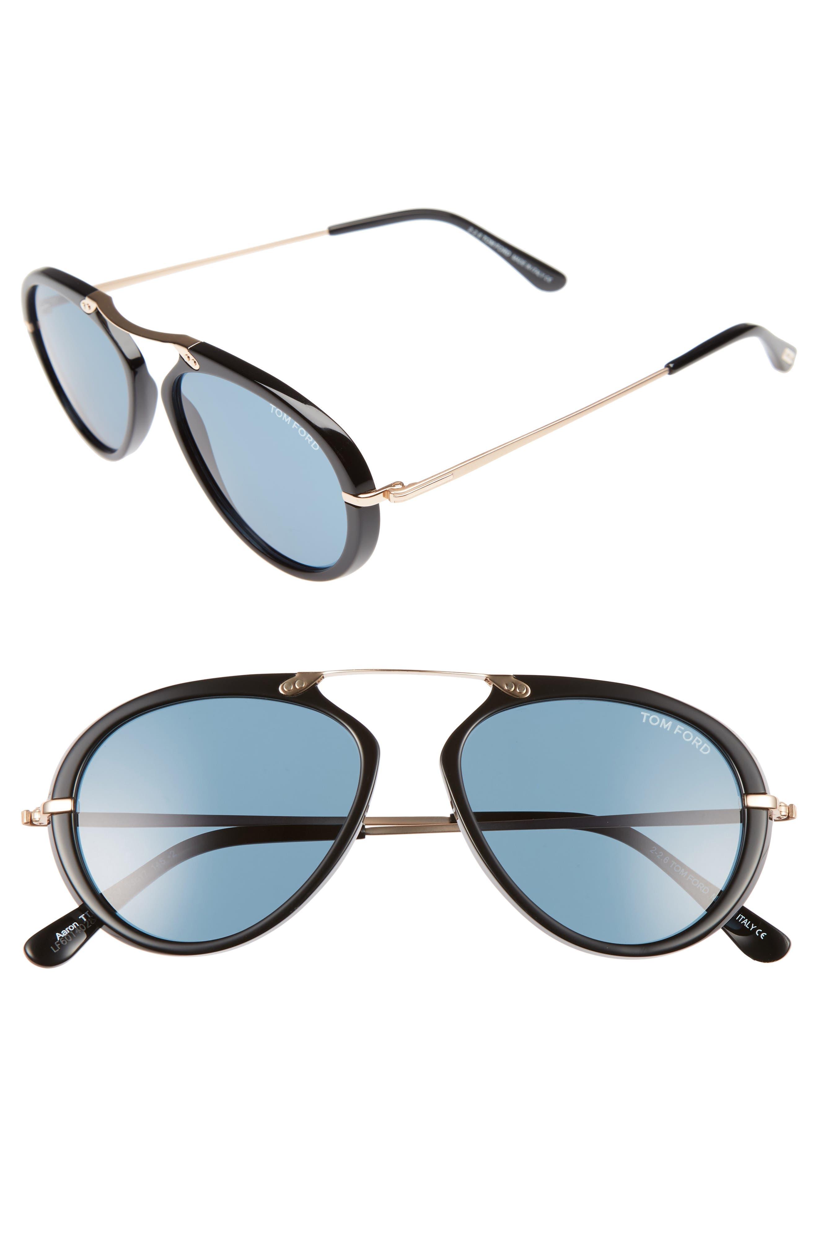 'Aaron' 53mm Sunglasses,                             Main thumbnail 1, color,                             138