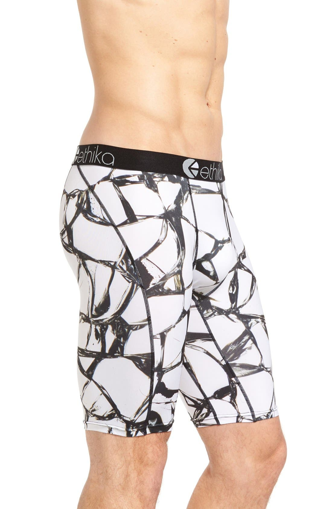 Shattered Stretch Boxer Briefs,                             Alternate thumbnail 2, color,
