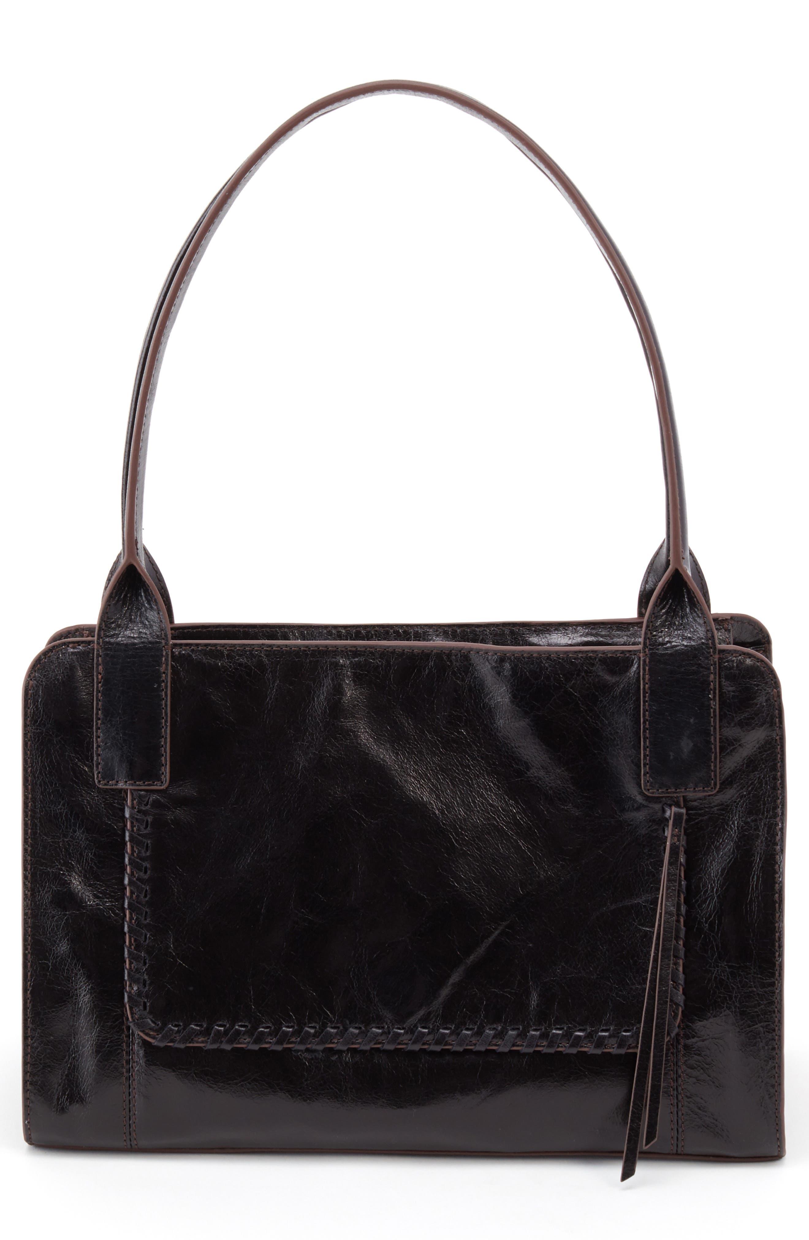 Splendor Leather Satchel,                         Main,                         color, 001