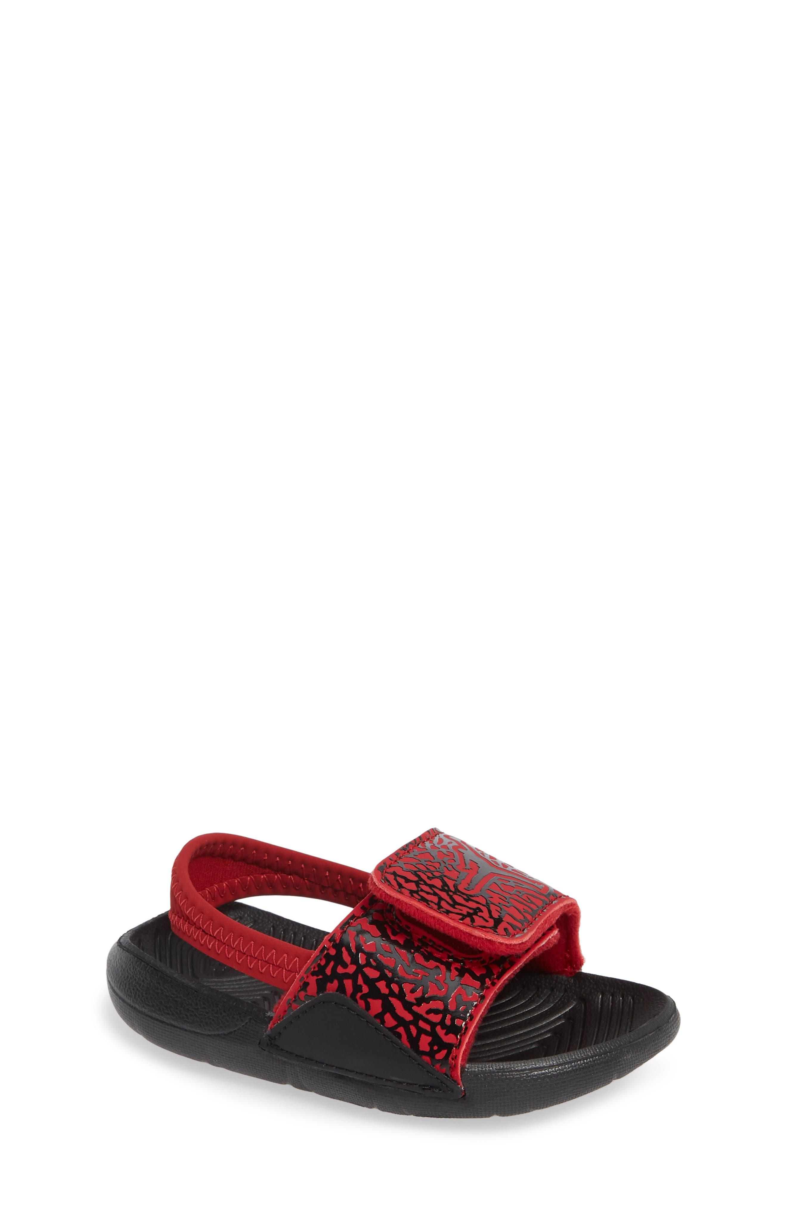 Hydro 7 V2 Sandal,                             Main thumbnail 1, color,                             GYM RED/ BLACK 2