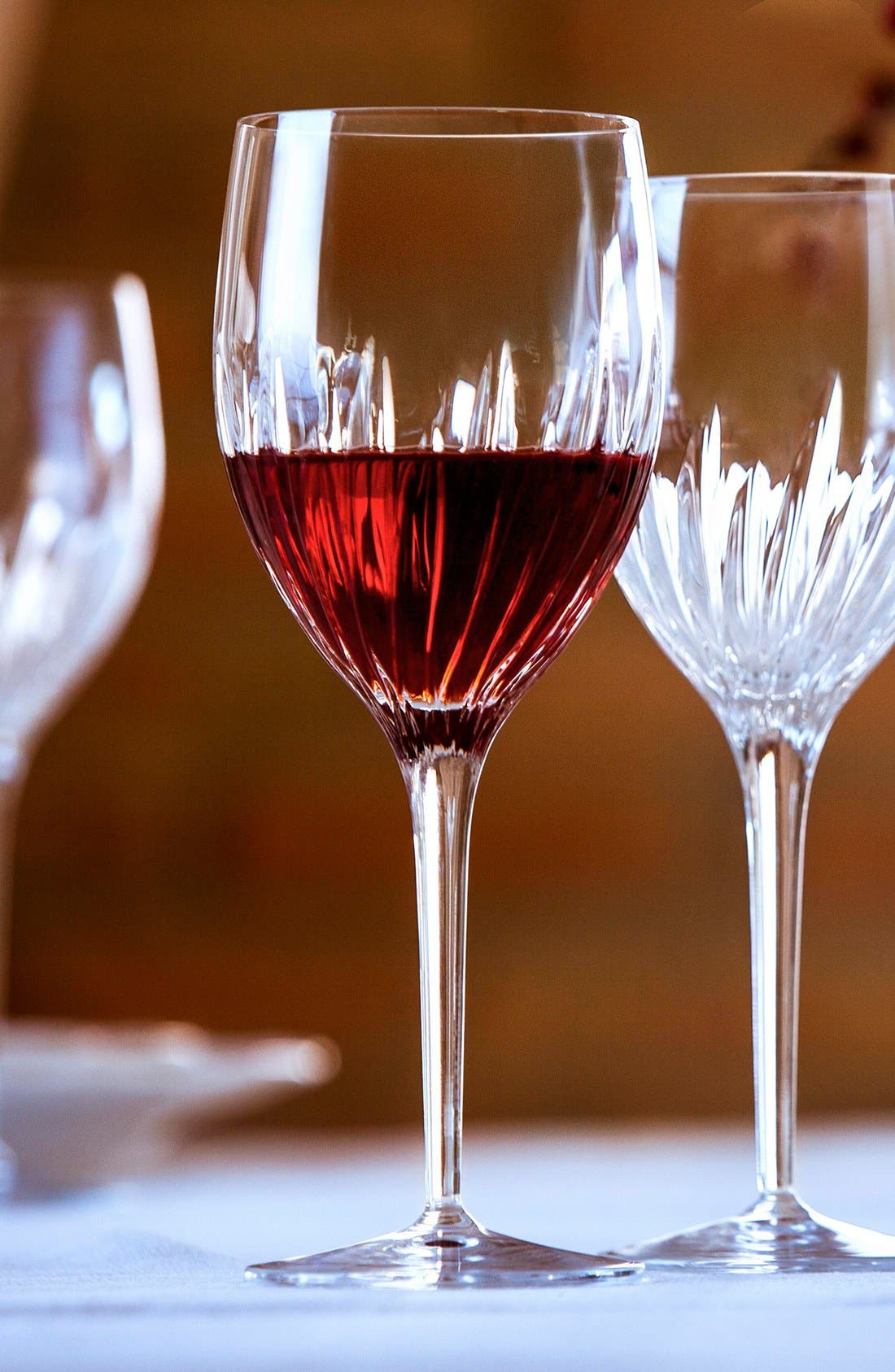 Incanto Set of 4 Red Wine Glasses,                             Alternate thumbnail 4, color,                             CLEAR