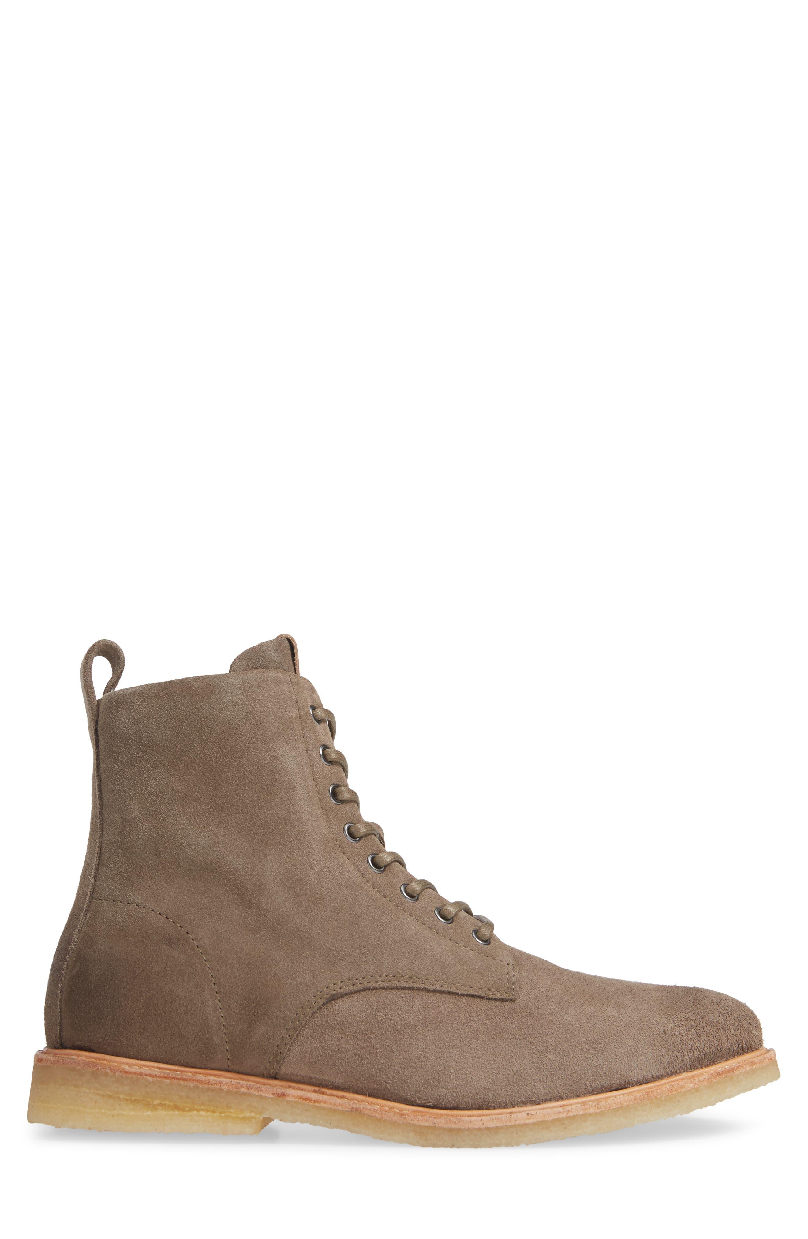QM23 Plain Toe Boot,                             Alternate thumbnail 3, color,                             GREY
