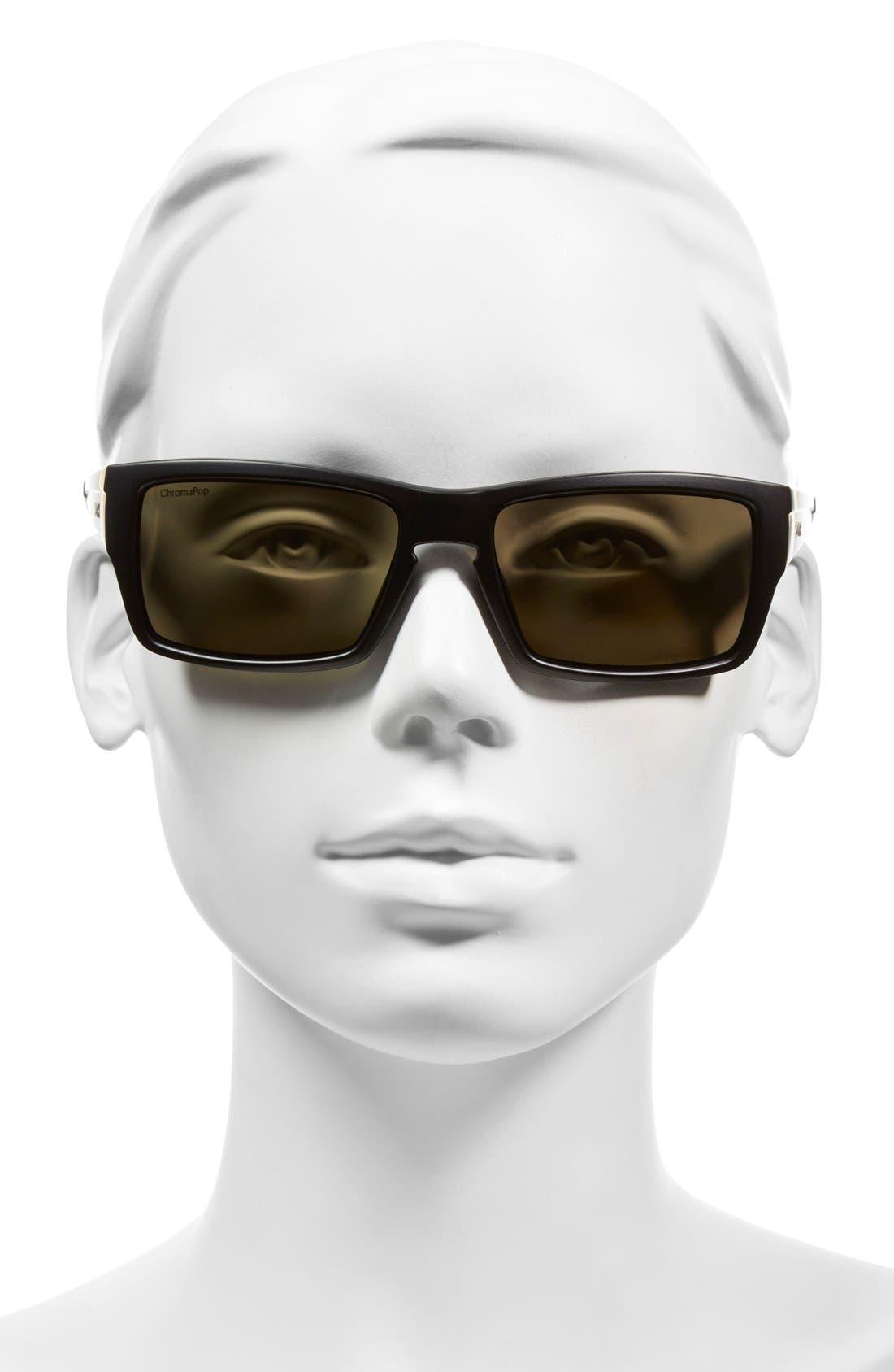 'Outlier' 56mm Polarized Sunglasses,                             Alternate thumbnail 4, color,