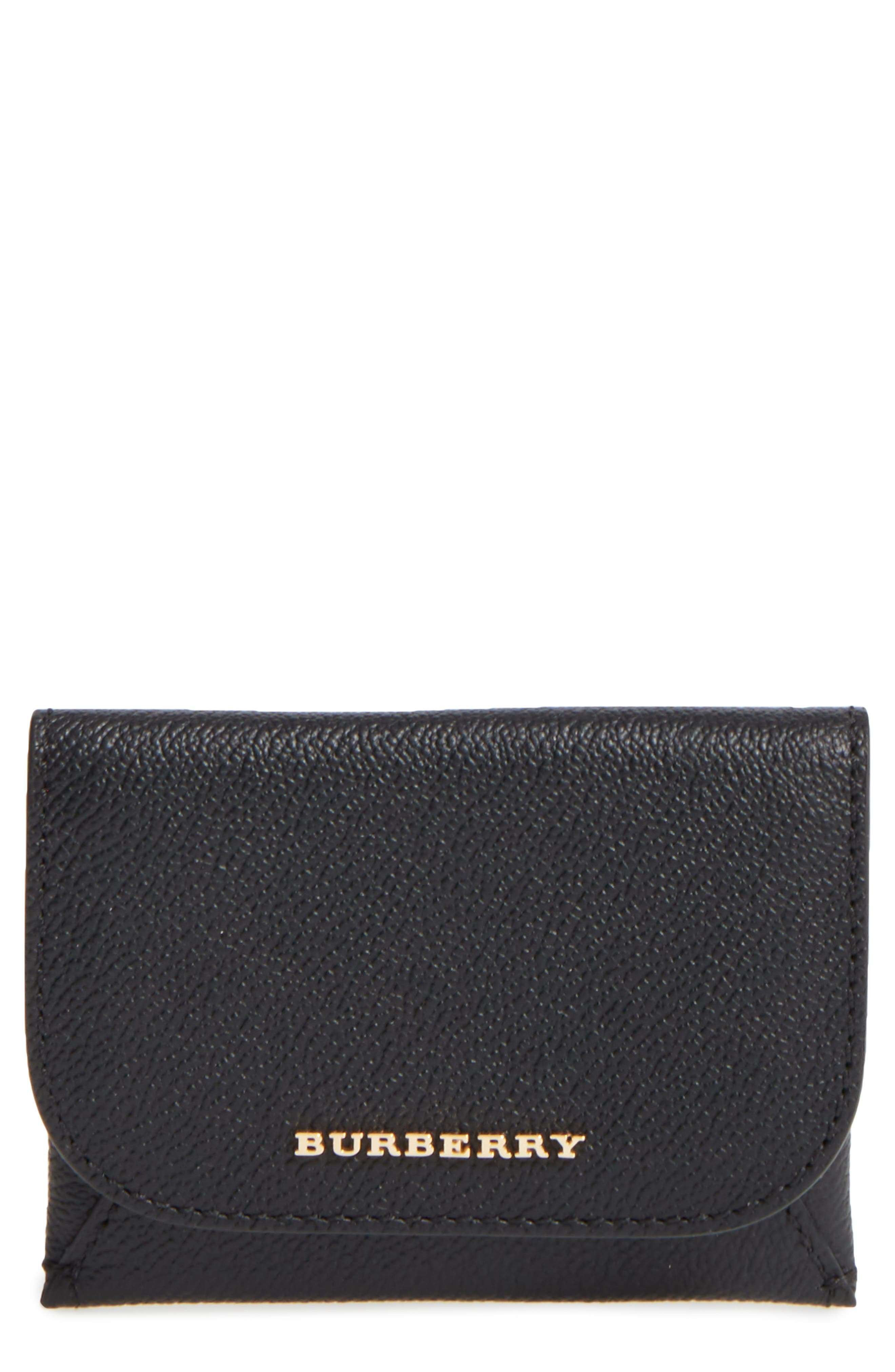 Mayfield Leather Card Case,                             Main thumbnail 1, color,                             001