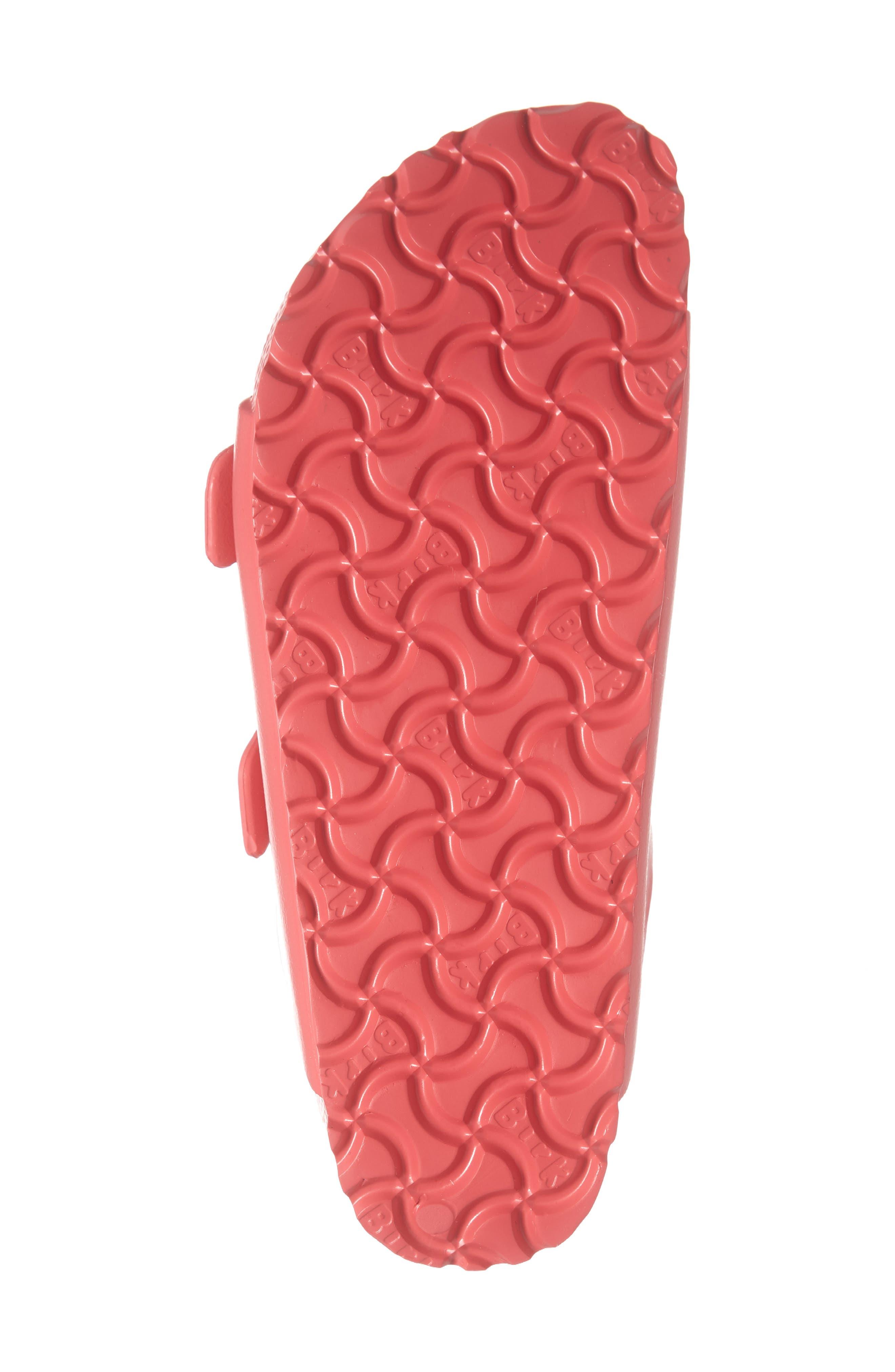 BIRKENSTOCK,                             Essentials - Arizona Slide Sandal,                             Alternate thumbnail 6, color,                             CORAL EVA