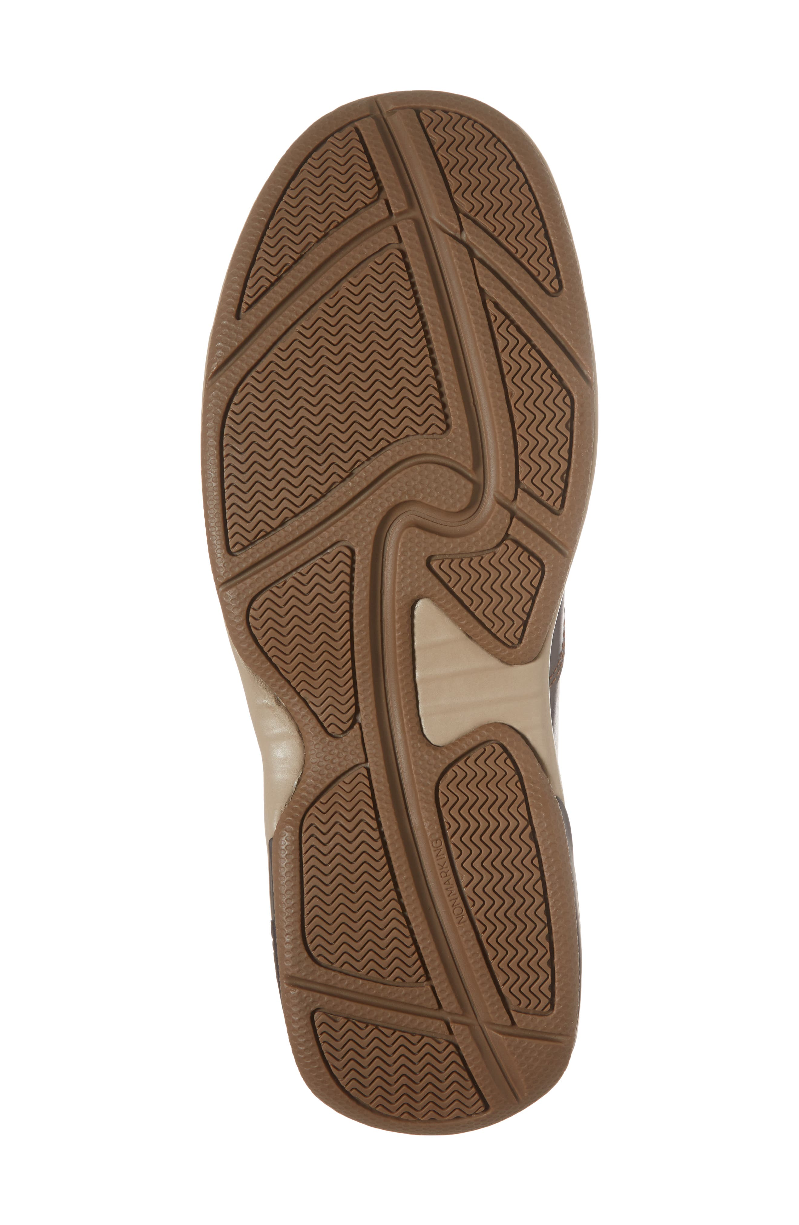 Waterford Water Resistant Slip-On,                             Alternate thumbnail 6, color,                             TAN LEATHER