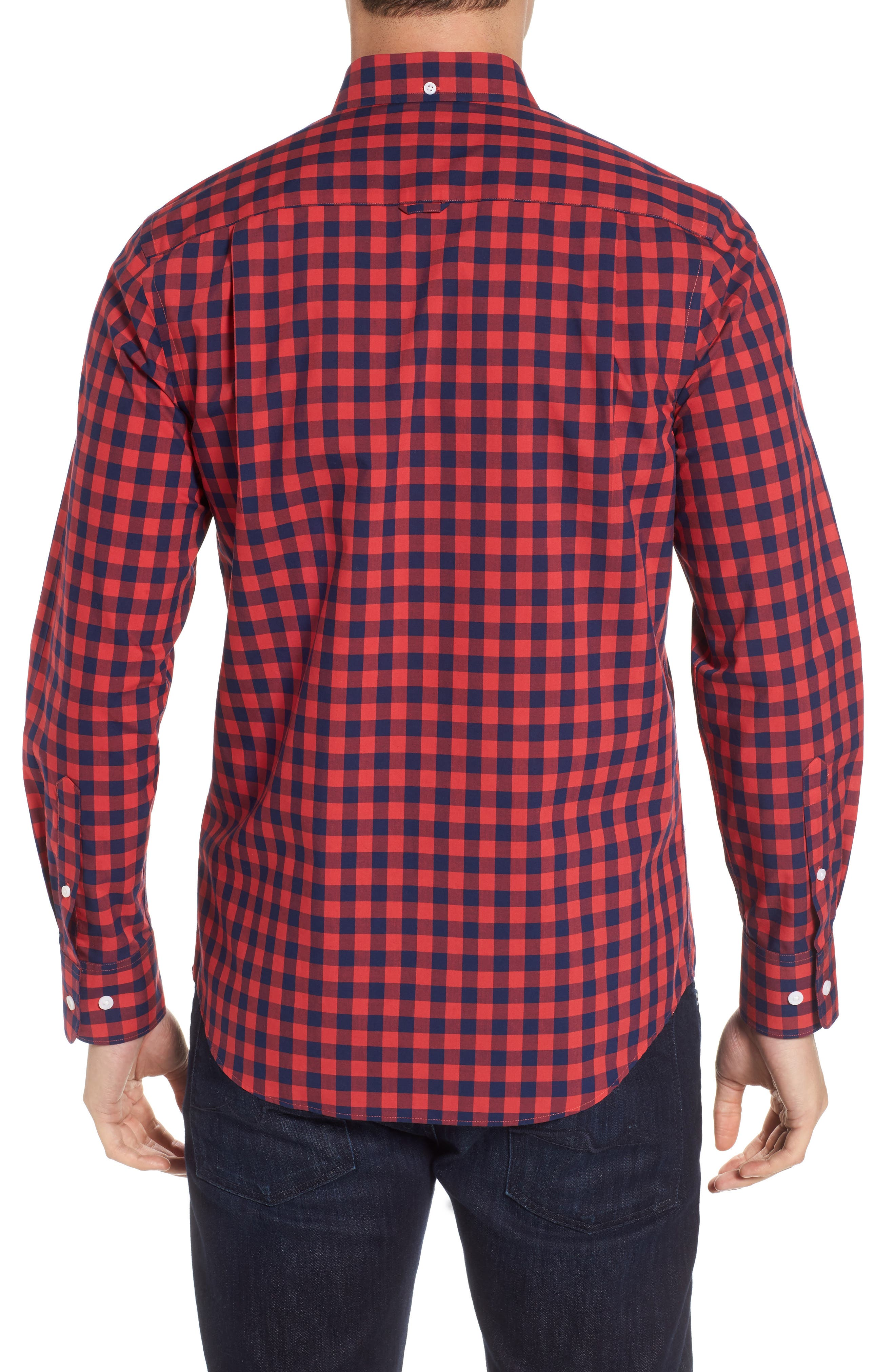 Regular Fit Gingham Sport Shirt,                             Alternate thumbnail 2, color,                             410