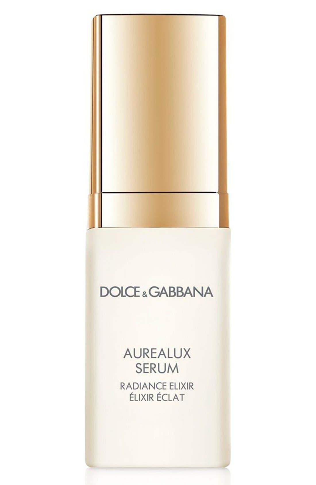 Dolce&GabbanaBeauty 'Aurealux' Serum Radiance Elixir,                             Main thumbnail 1, color,                             000