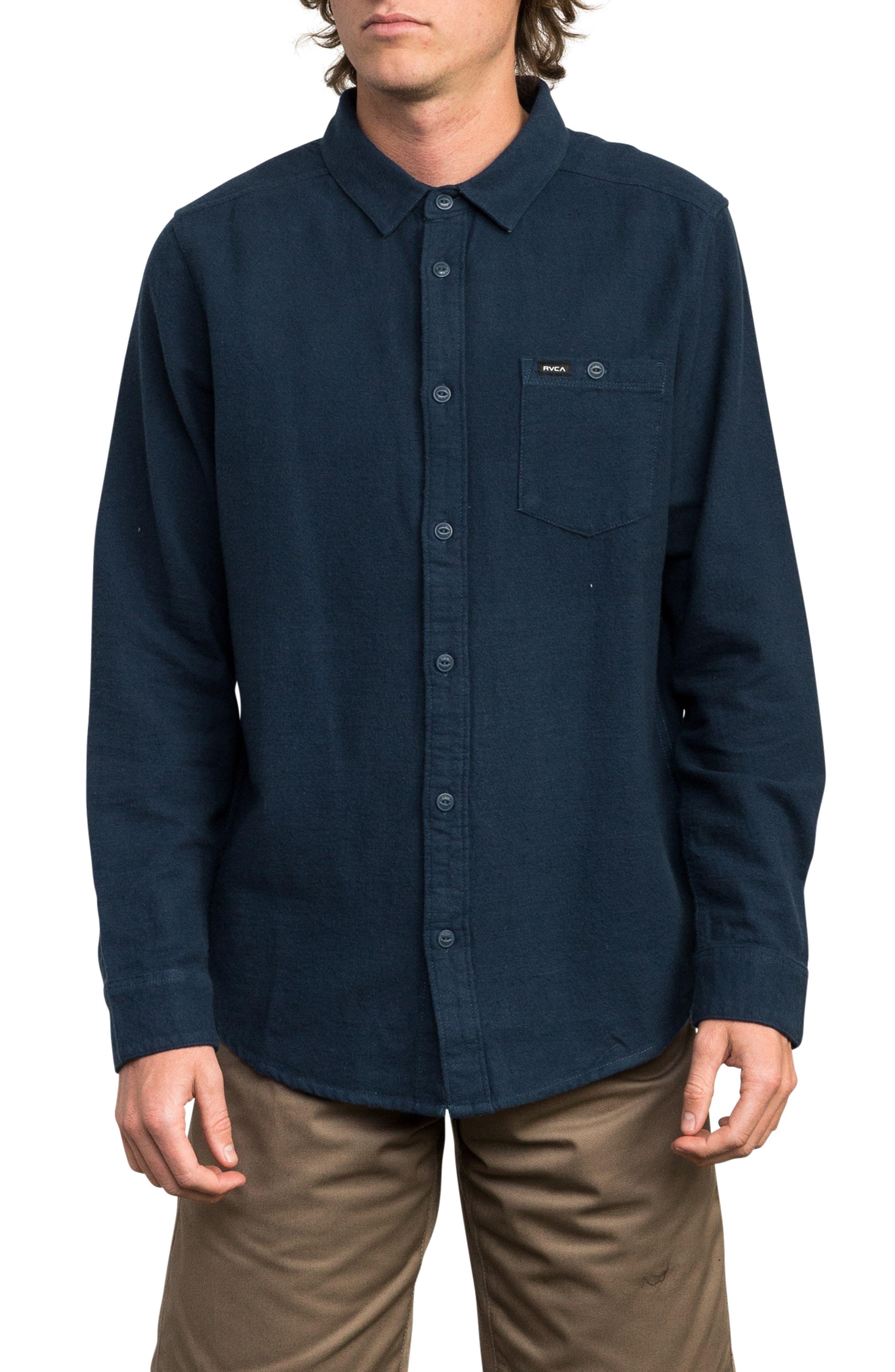 Public Works Flannel Shirt,                         Main,                         color, 487