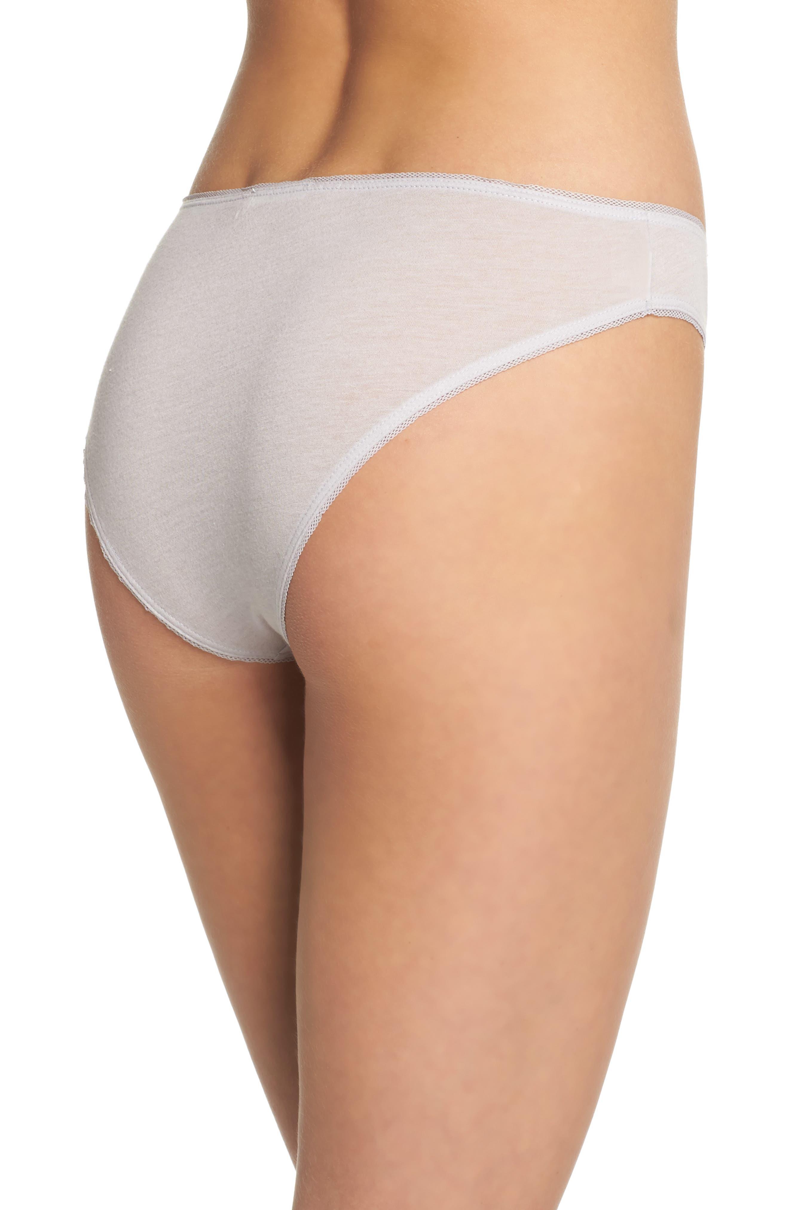 Organic Pima Cotton Bikini,                             Alternate thumbnail 2, color,                             532