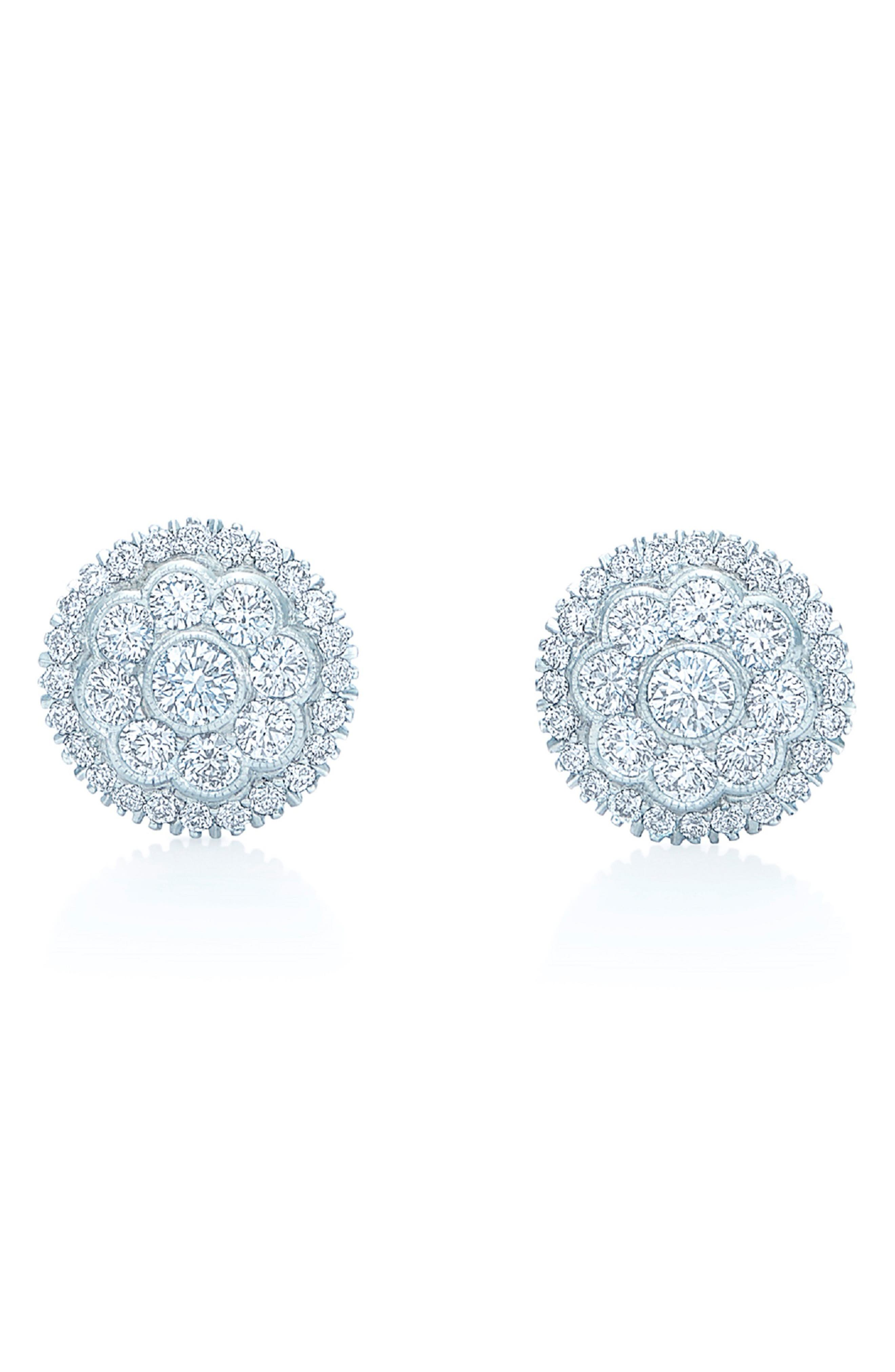 Diamond Stud Earrings,                         Main,                         color, 711