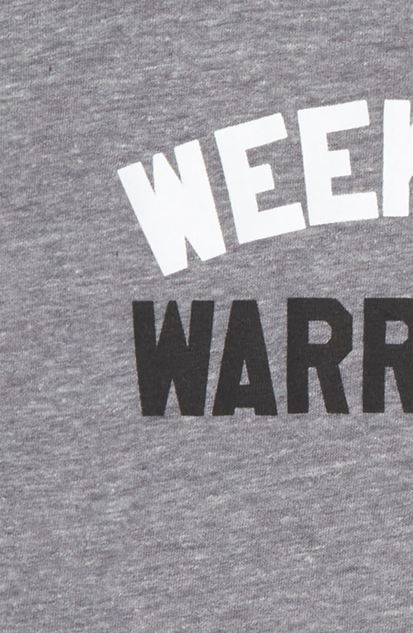 Weekend Warriors Tee,                             Alternate thumbnail 4, color,