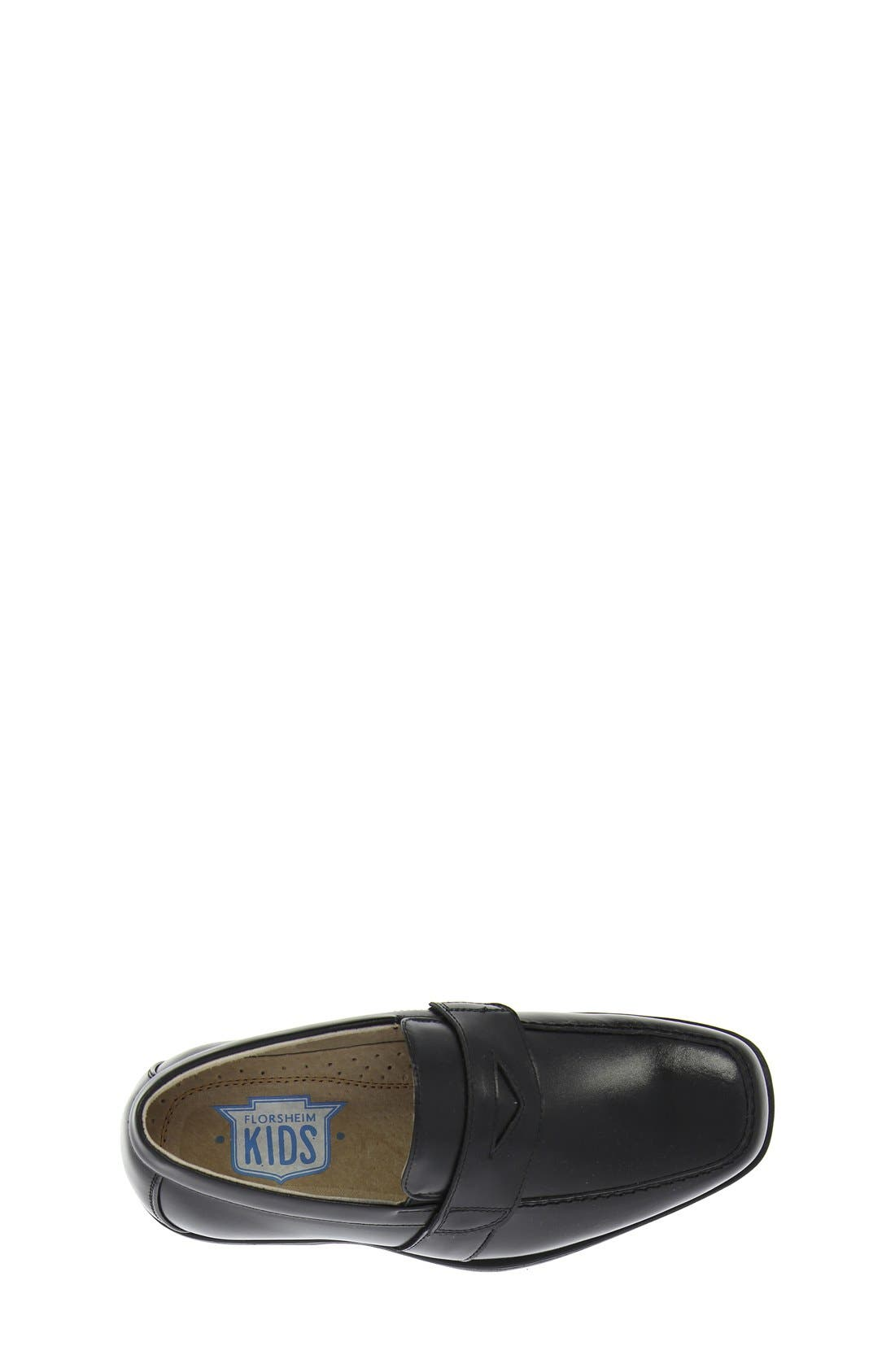 'Reveal' Penny Loafer,                             Alternate thumbnail 10, color,                             BLACK