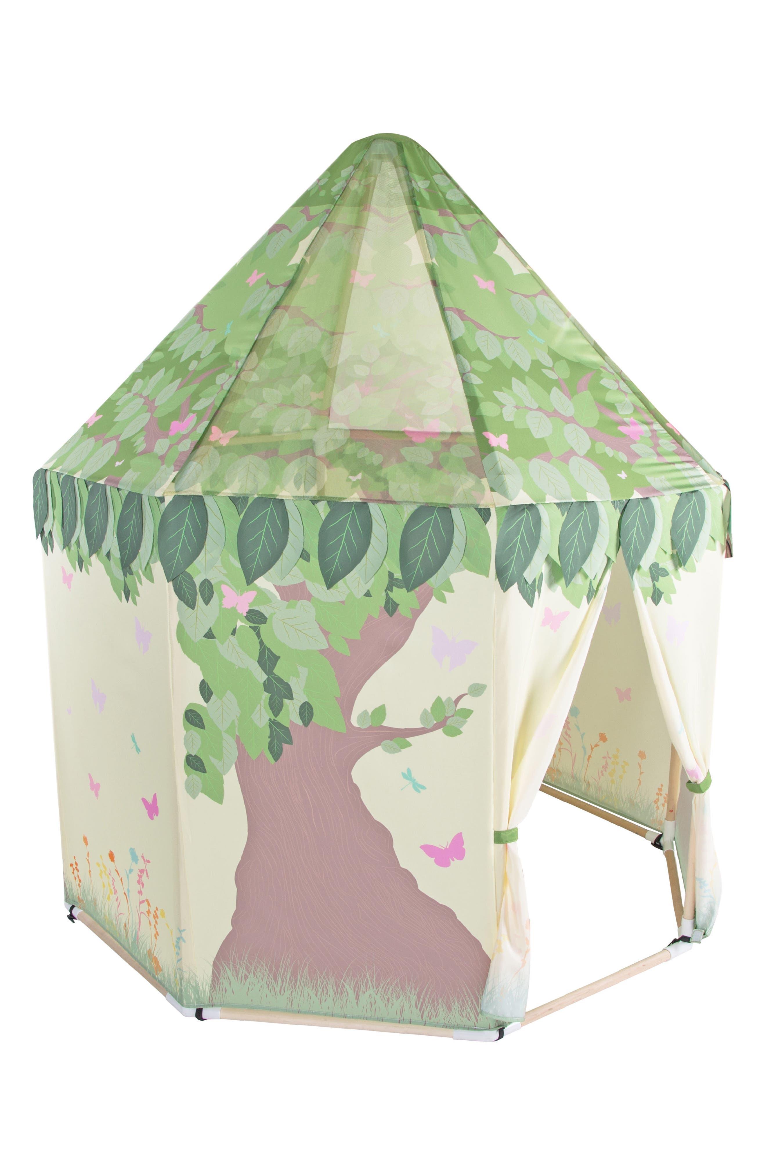 Butterfly Garden Tent,                             Main thumbnail 1, color,                             GREEN