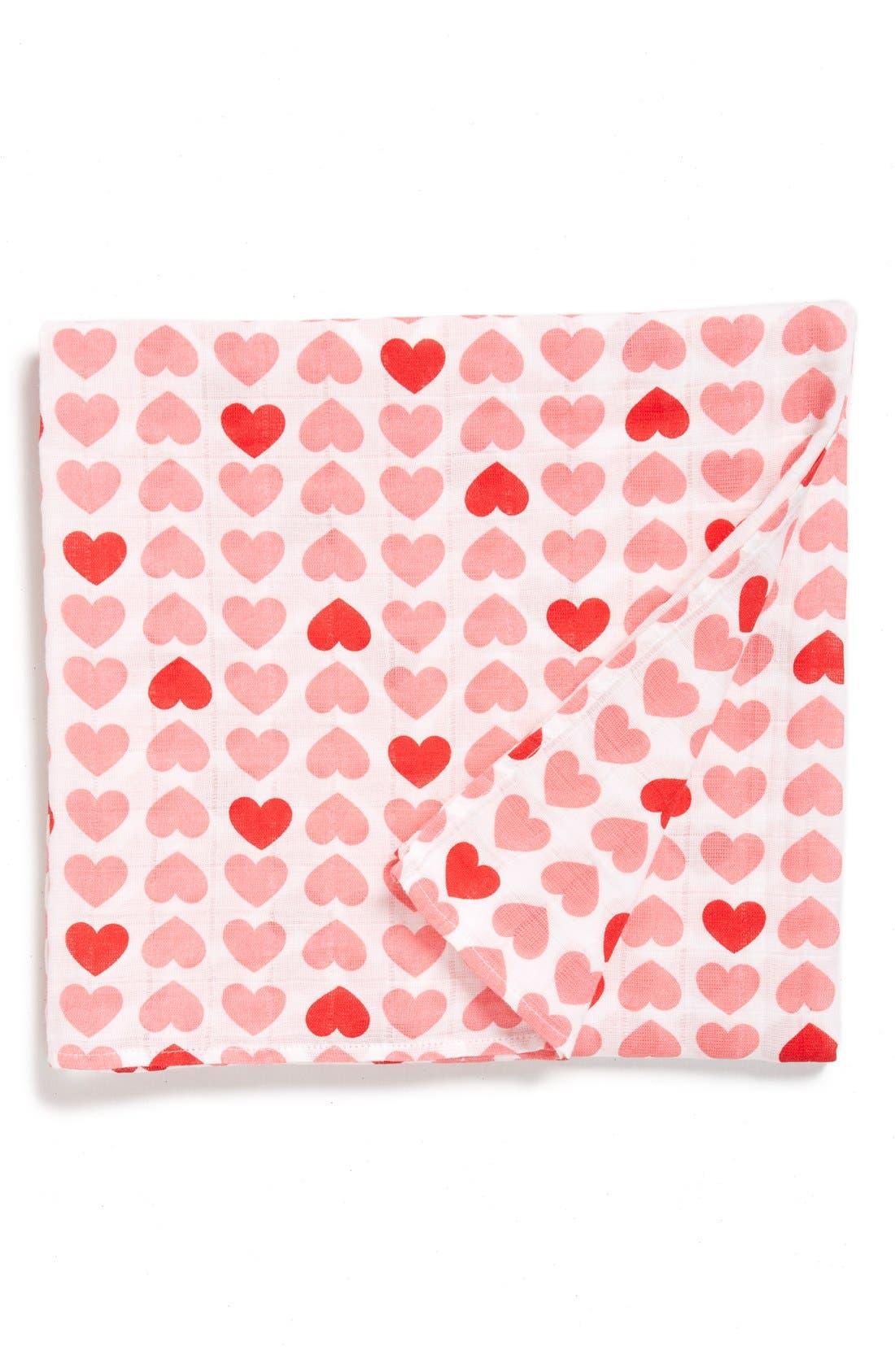 Cotton Swaddle Blanket,                             Main thumbnail 20, color,