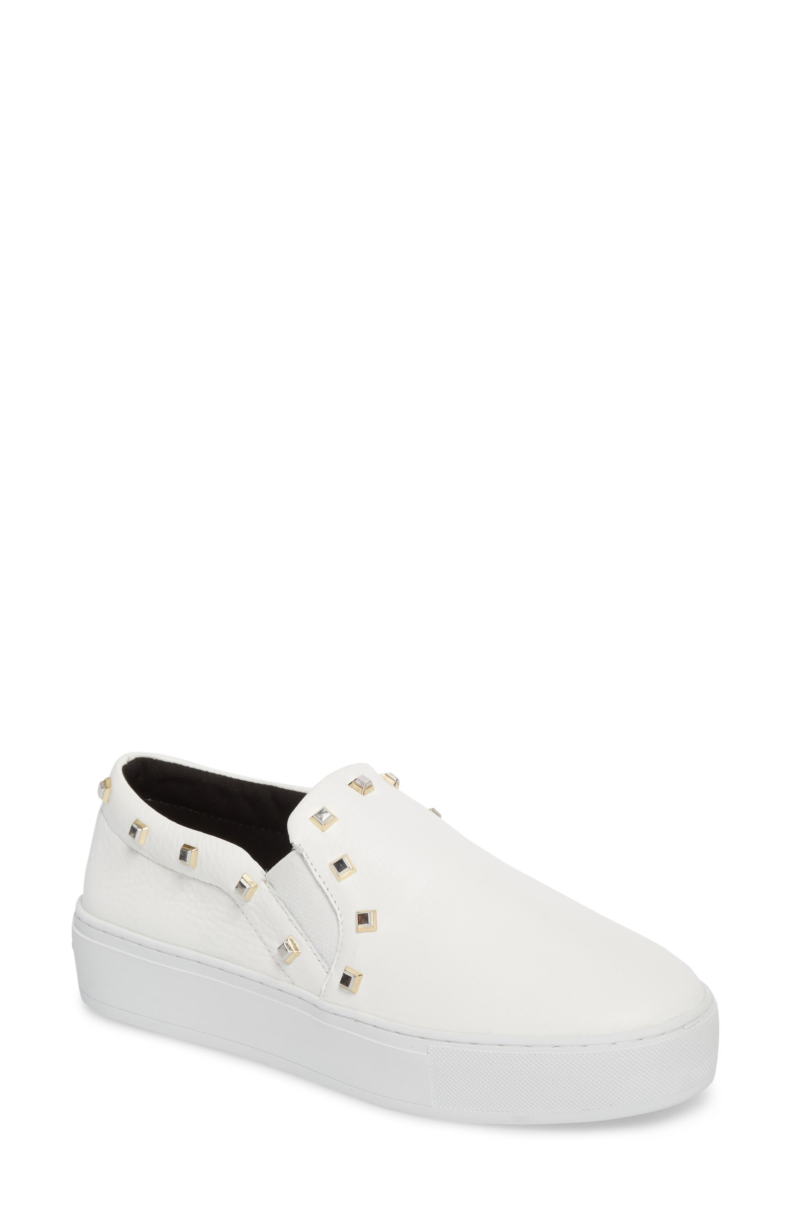Nora Stud Platform Sneaker,                             Main thumbnail 2, color,