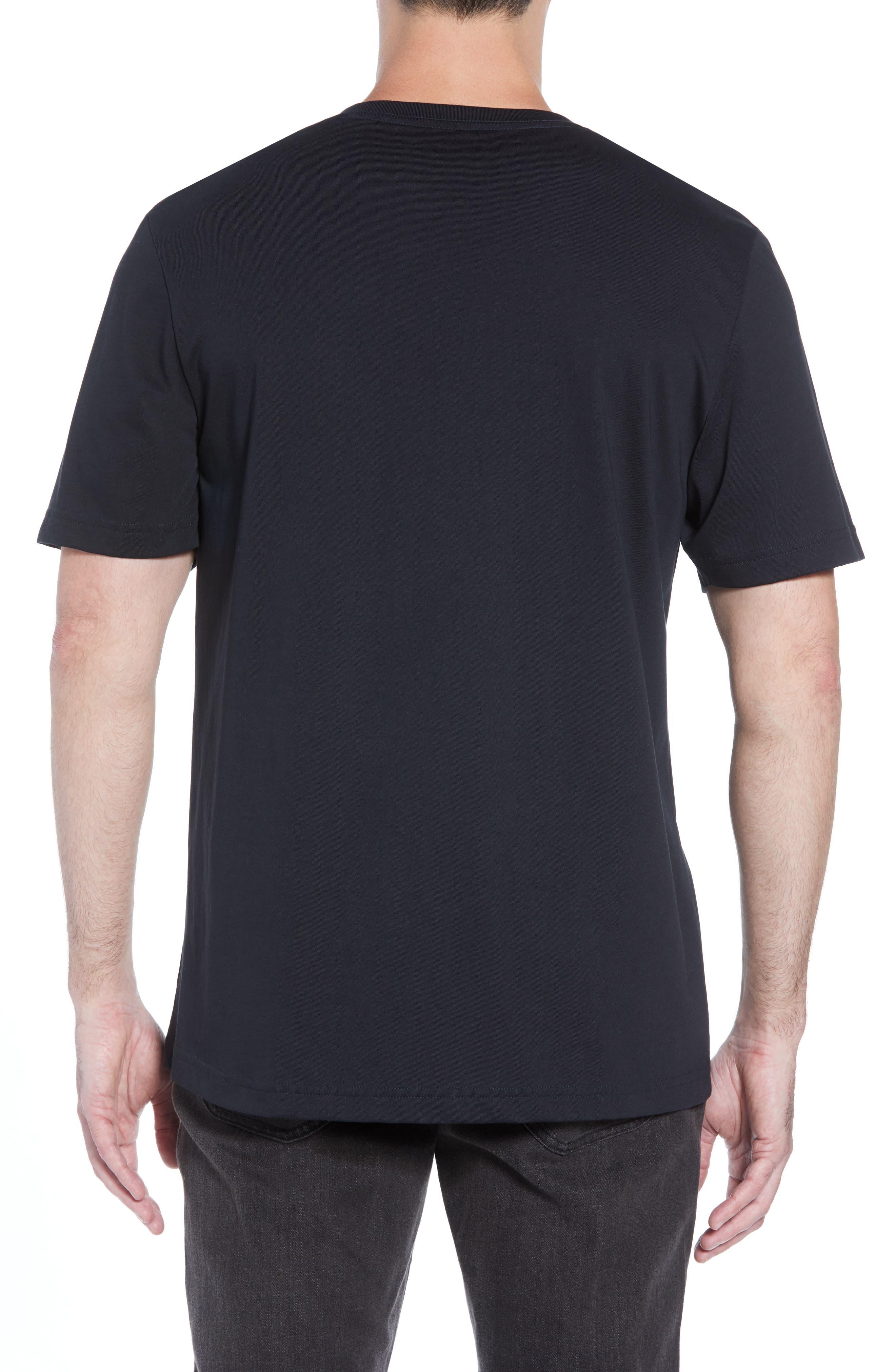 Rock City Crewneck T-Shirt,                             Alternate thumbnail 2, color,                             BLACK