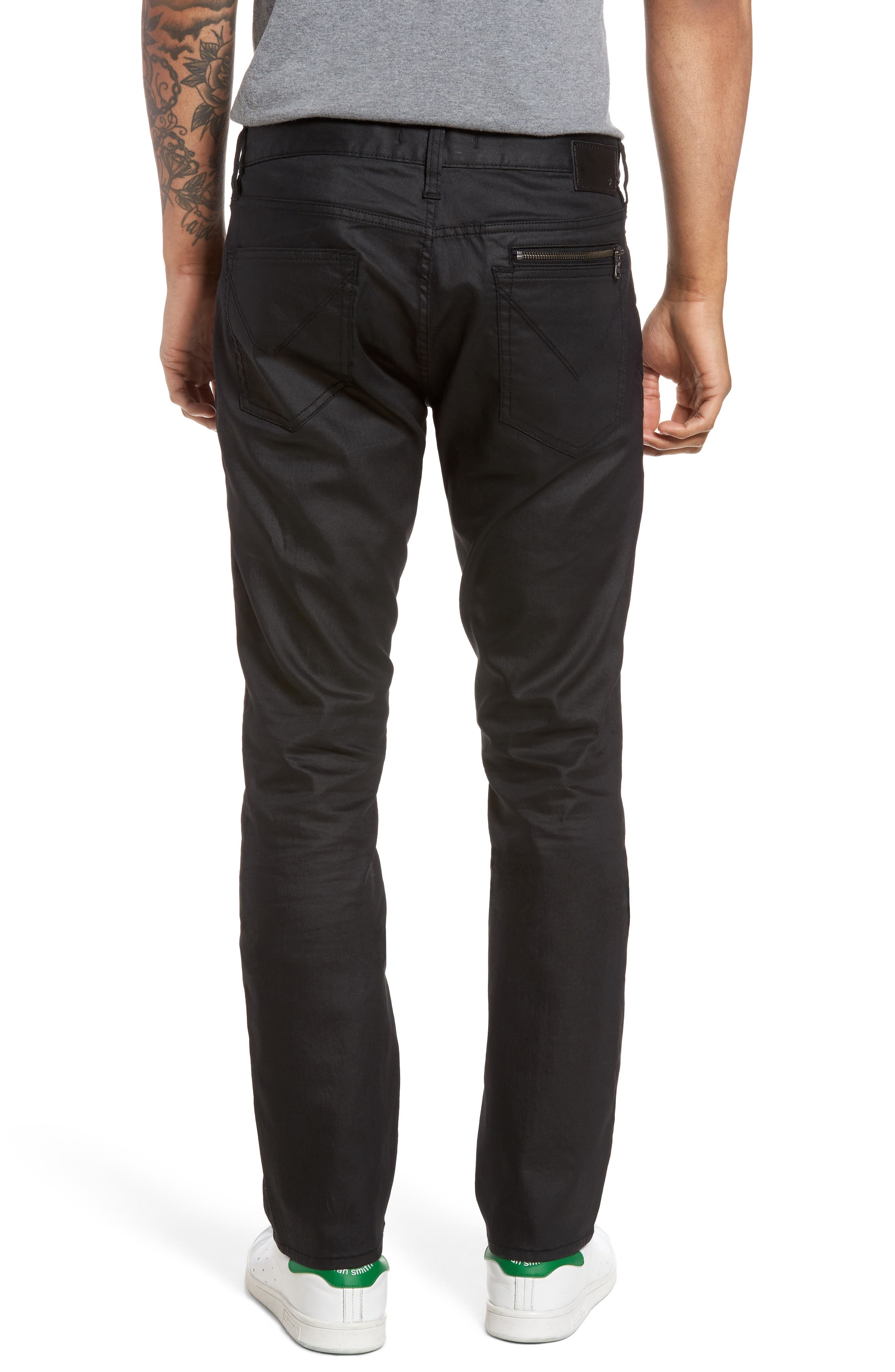Wight Skinny Jeans,                             Alternate thumbnail 6, color,