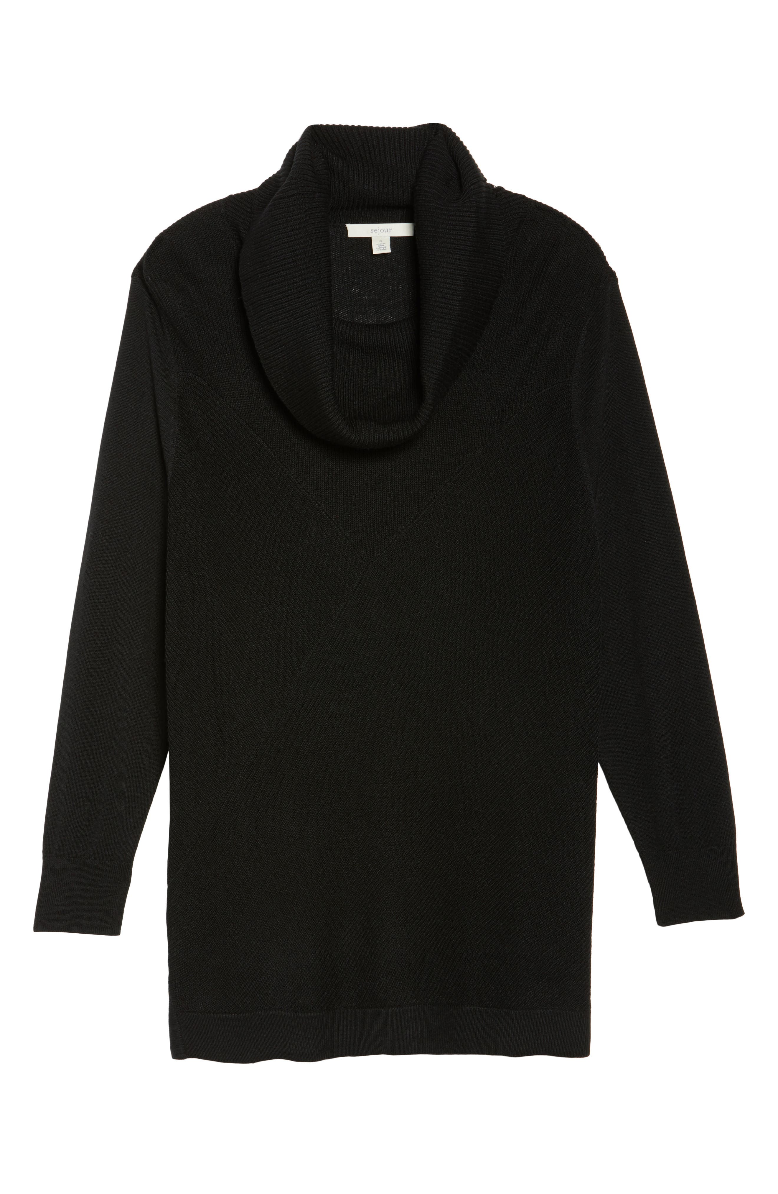 Cowl Neck Ribbed Trim Pullover,                             Alternate thumbnail 31, color,