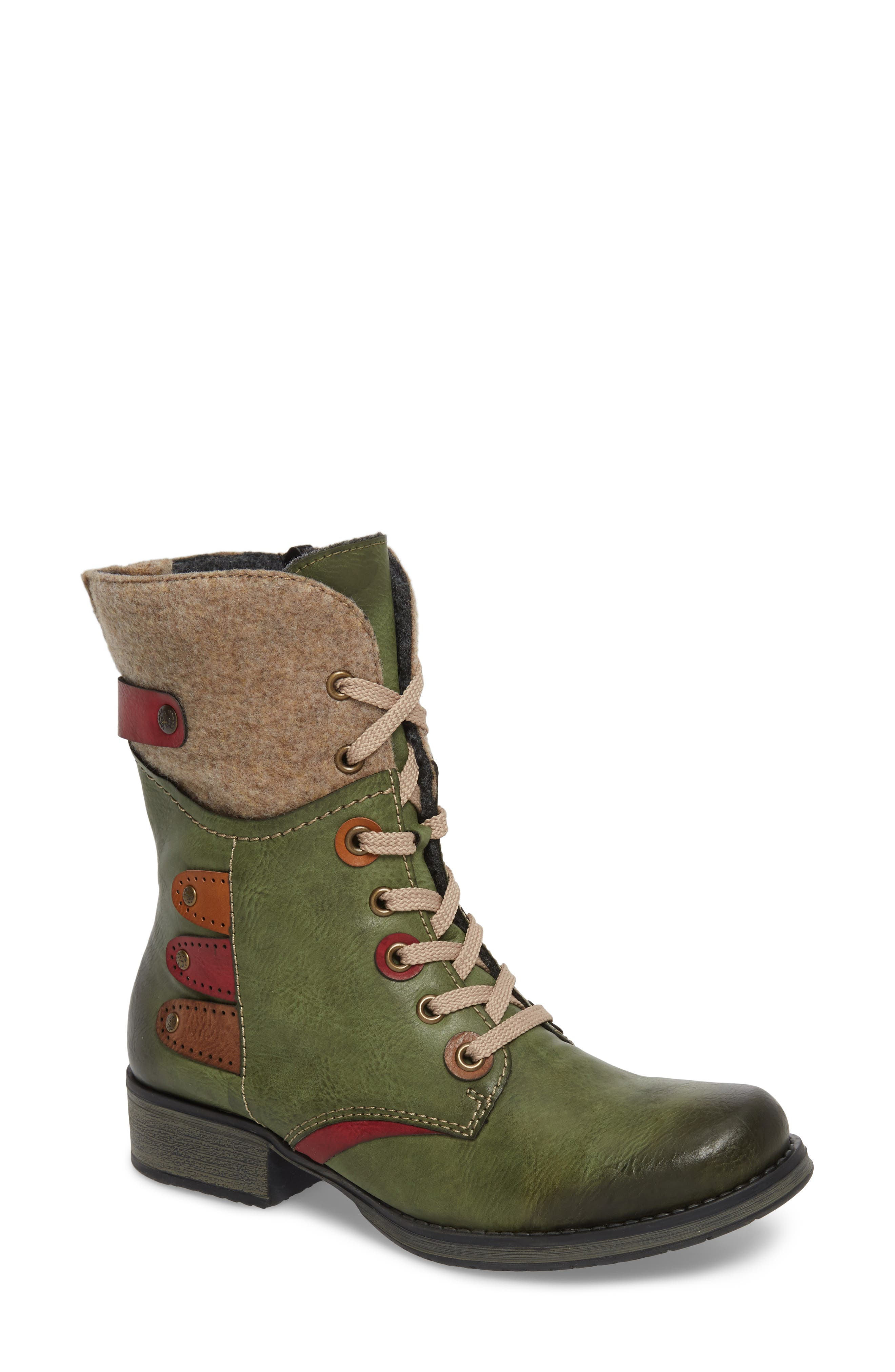 Fergie 43 Lace-Up Boot,                             Main thumbnail 1, color,