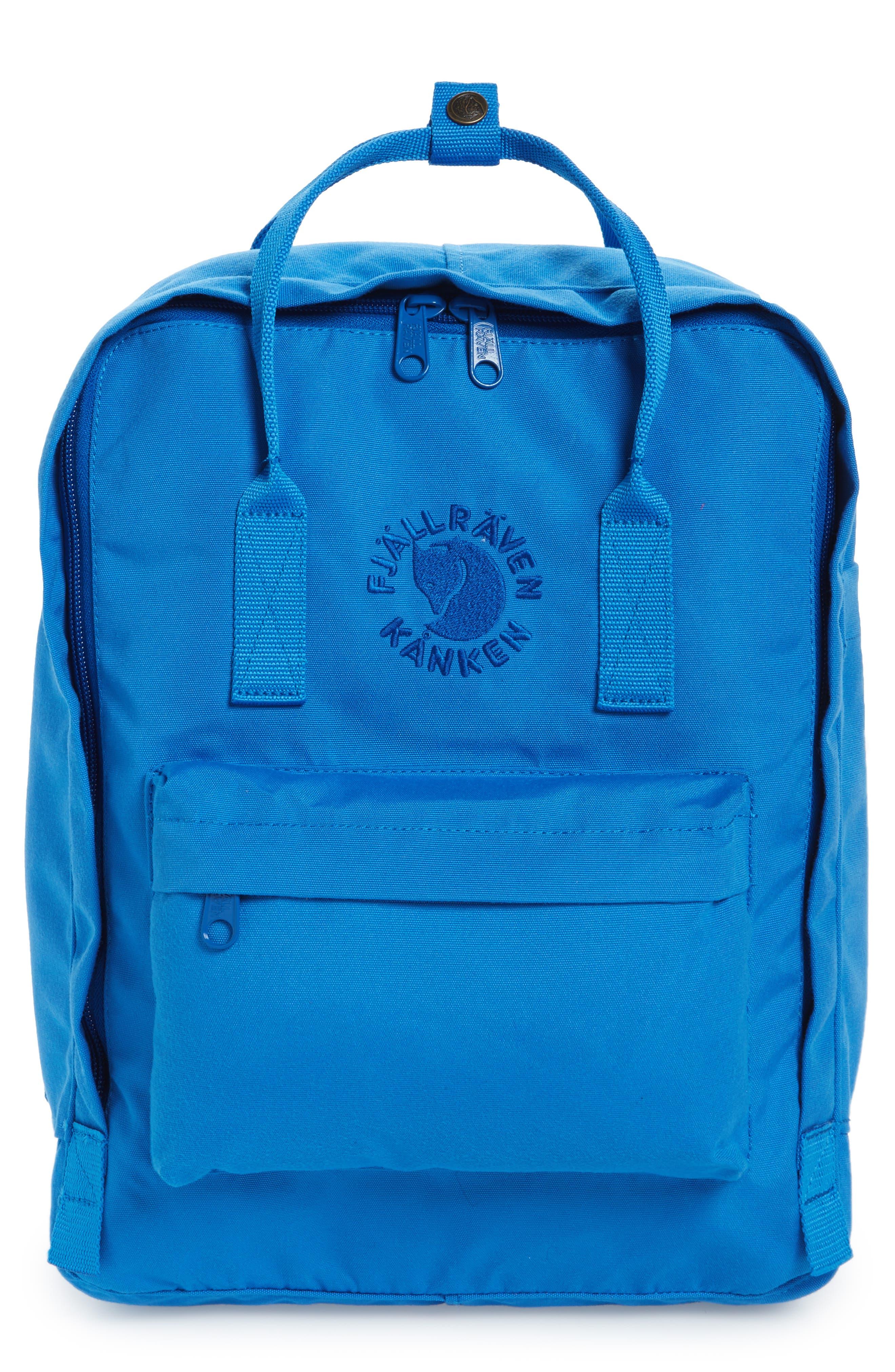 Re-Kånken Water Resistant Backpack,                         Main,                         color, UN BLUE