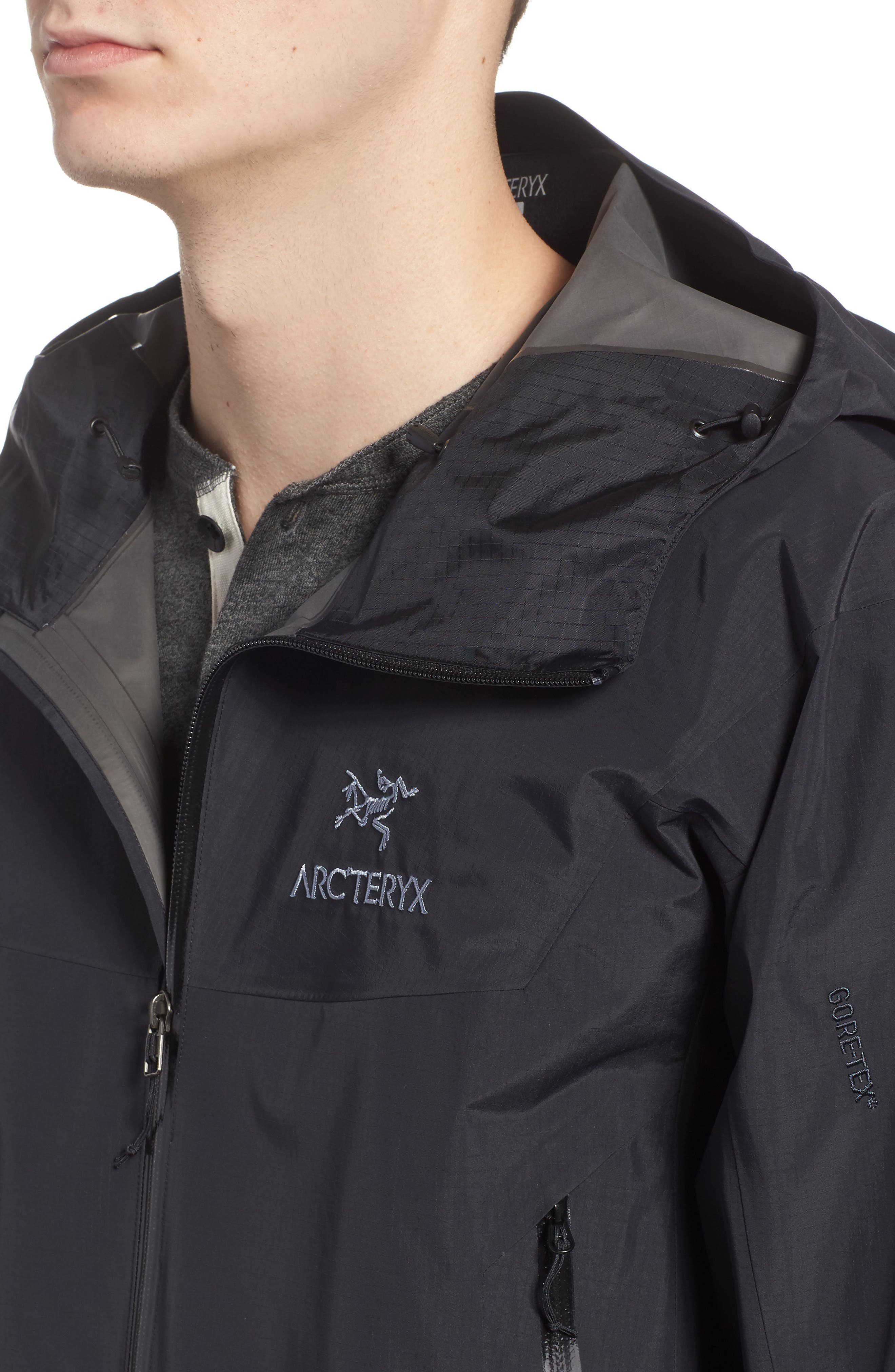'Beta SL' Jacket,                             Alternate thumbnail 6, color,                             BLACK