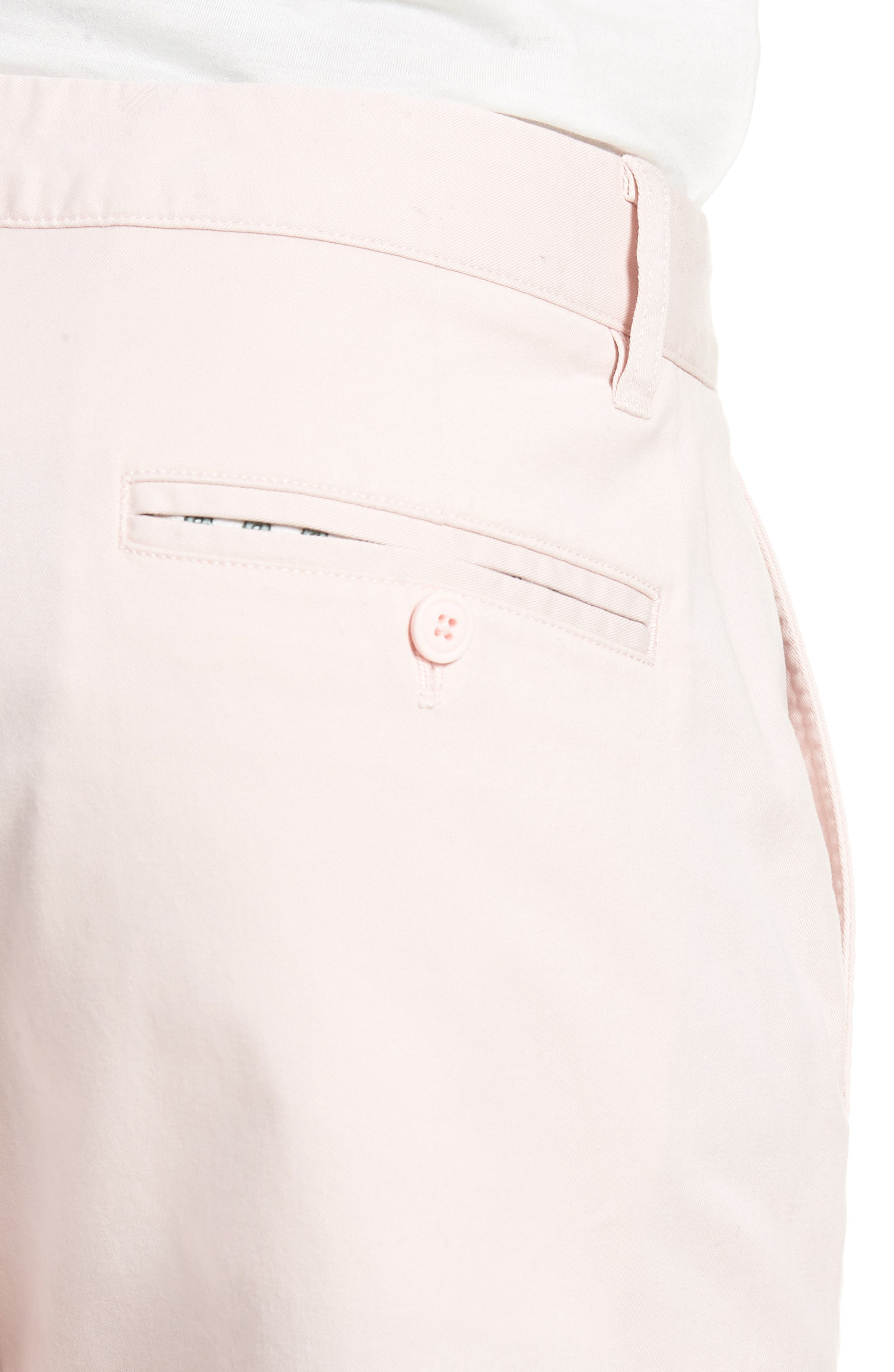 Tailored Fit Washed Stretch Cotton Chinos,                             Alternate thumbnail 124, color,