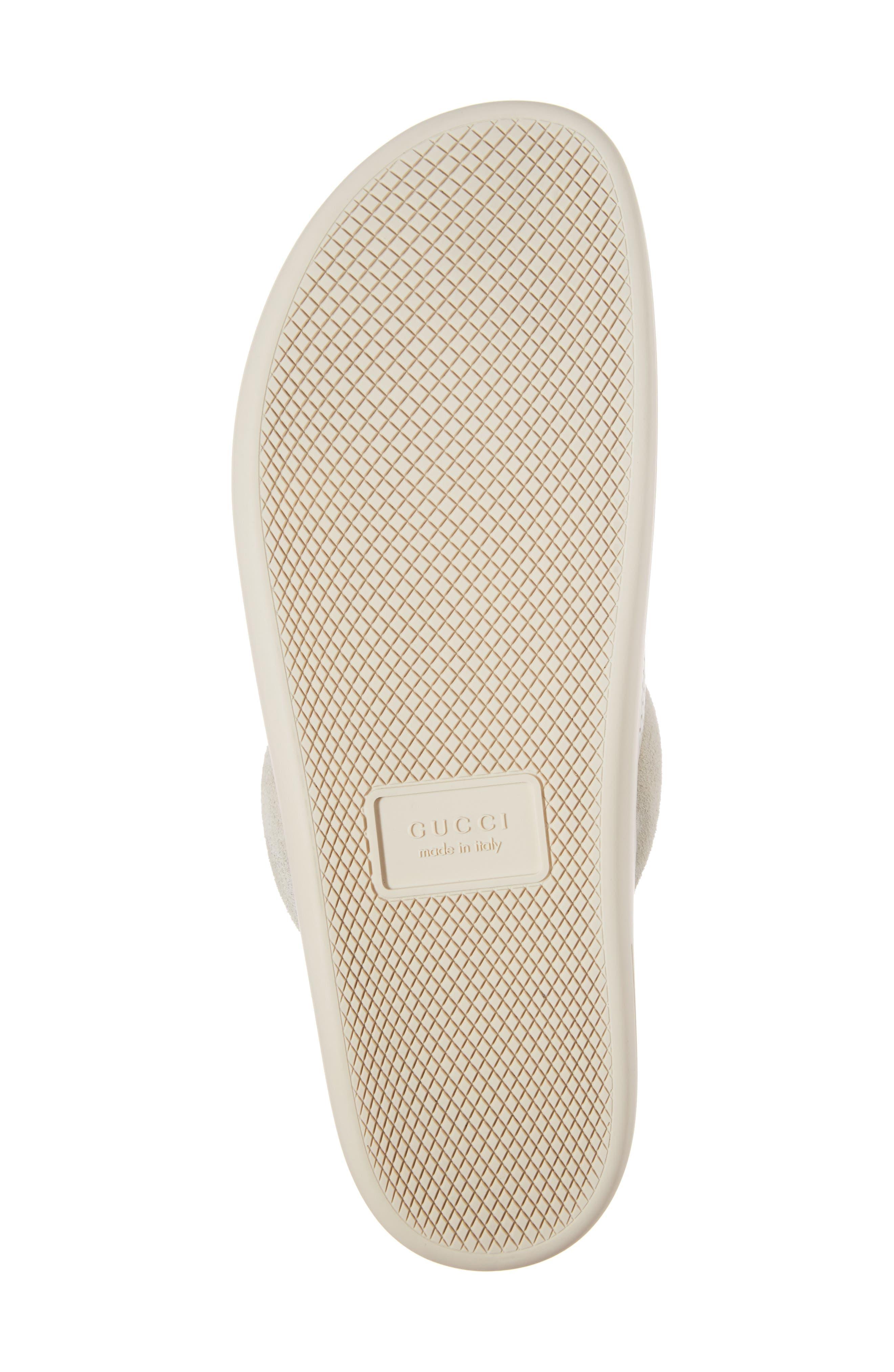 Horsebit Perforated Leather Slipper,                             Alternate thumbnail 6, color,                             157