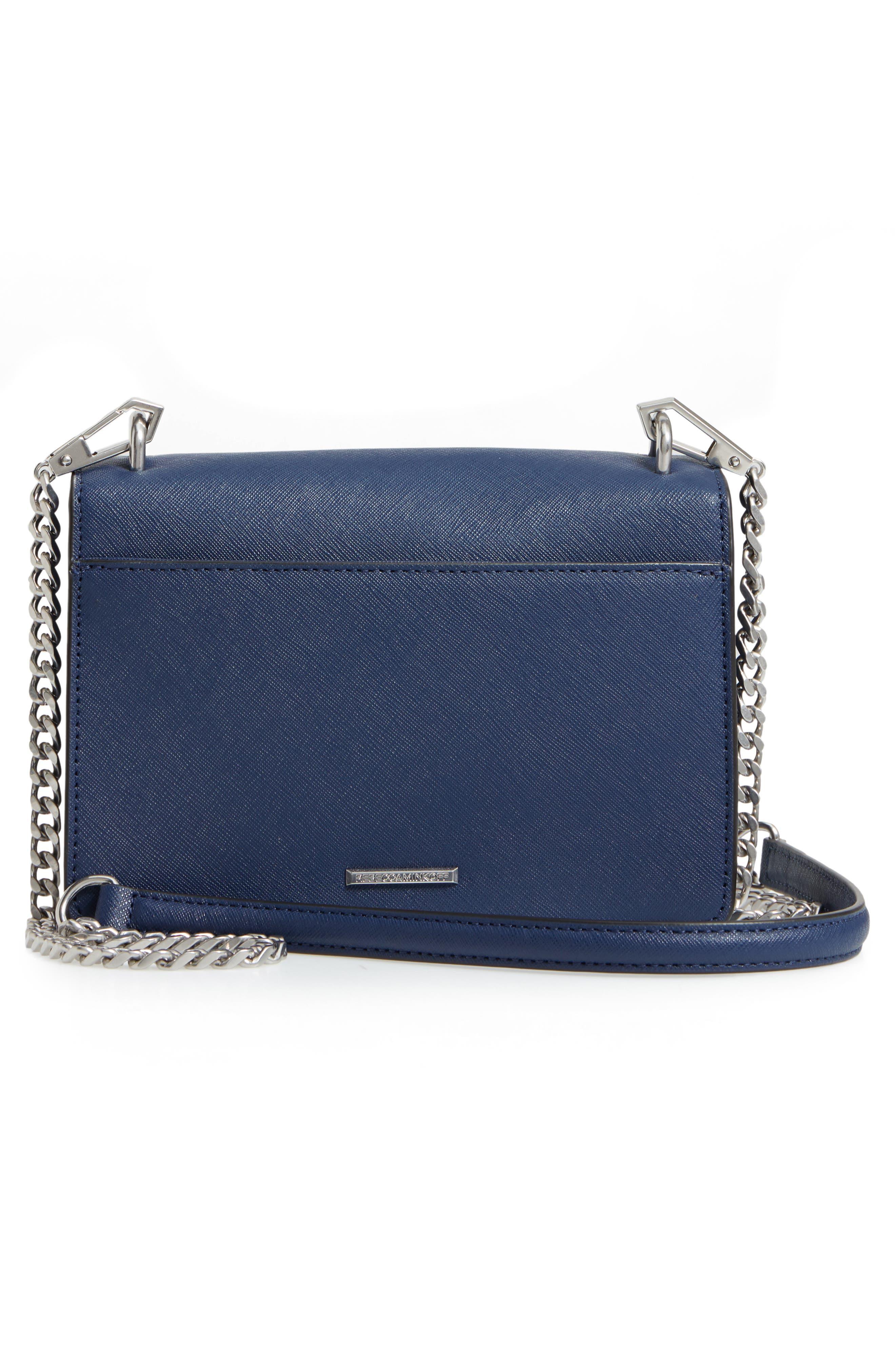 Medium Christy Leather Shoulder Bag,                             Alternate thumbnail 13, color,