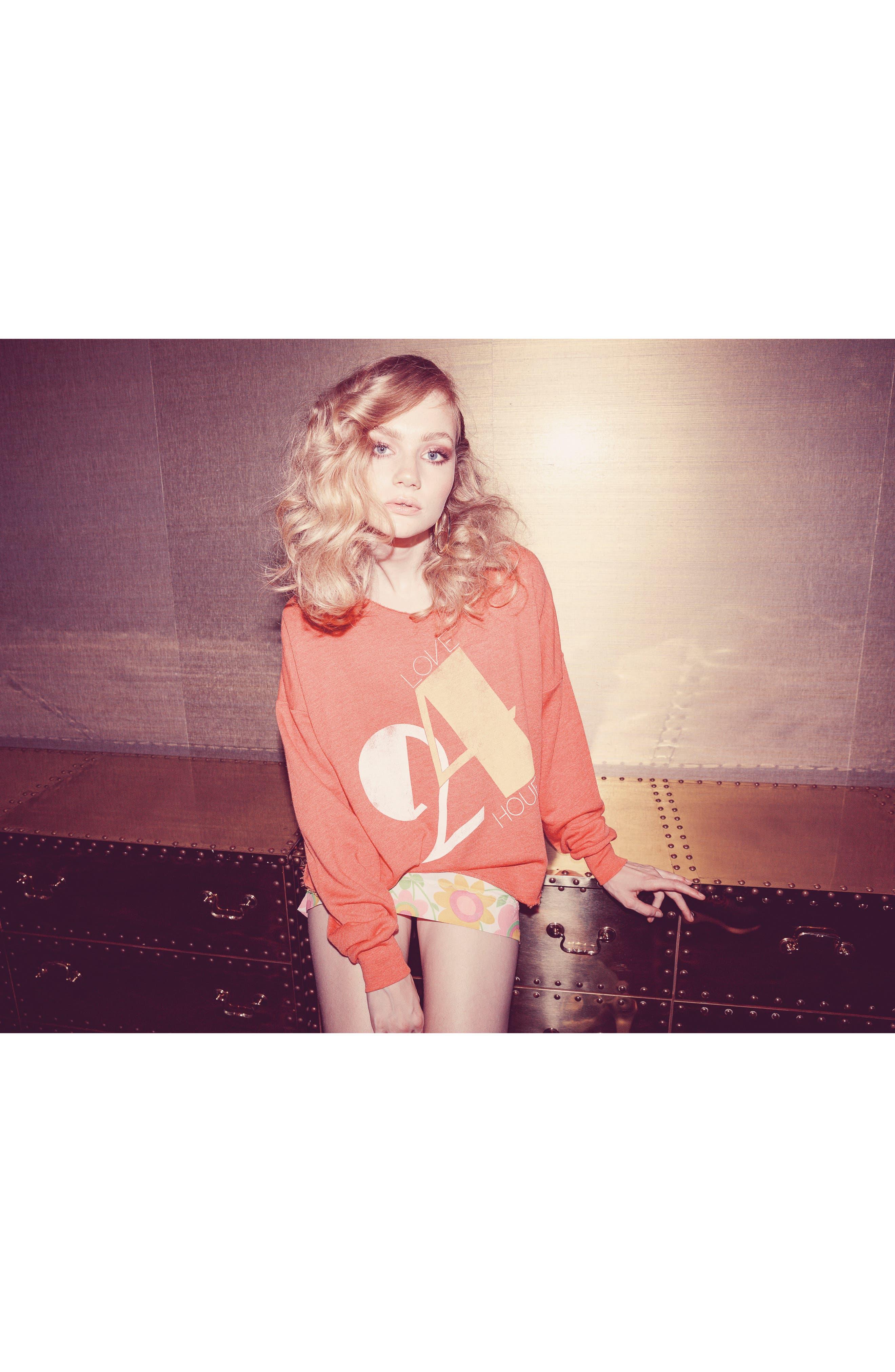 Love 24/7 Sweatshirt,                             Alternate thumbnail 8, color,                             640