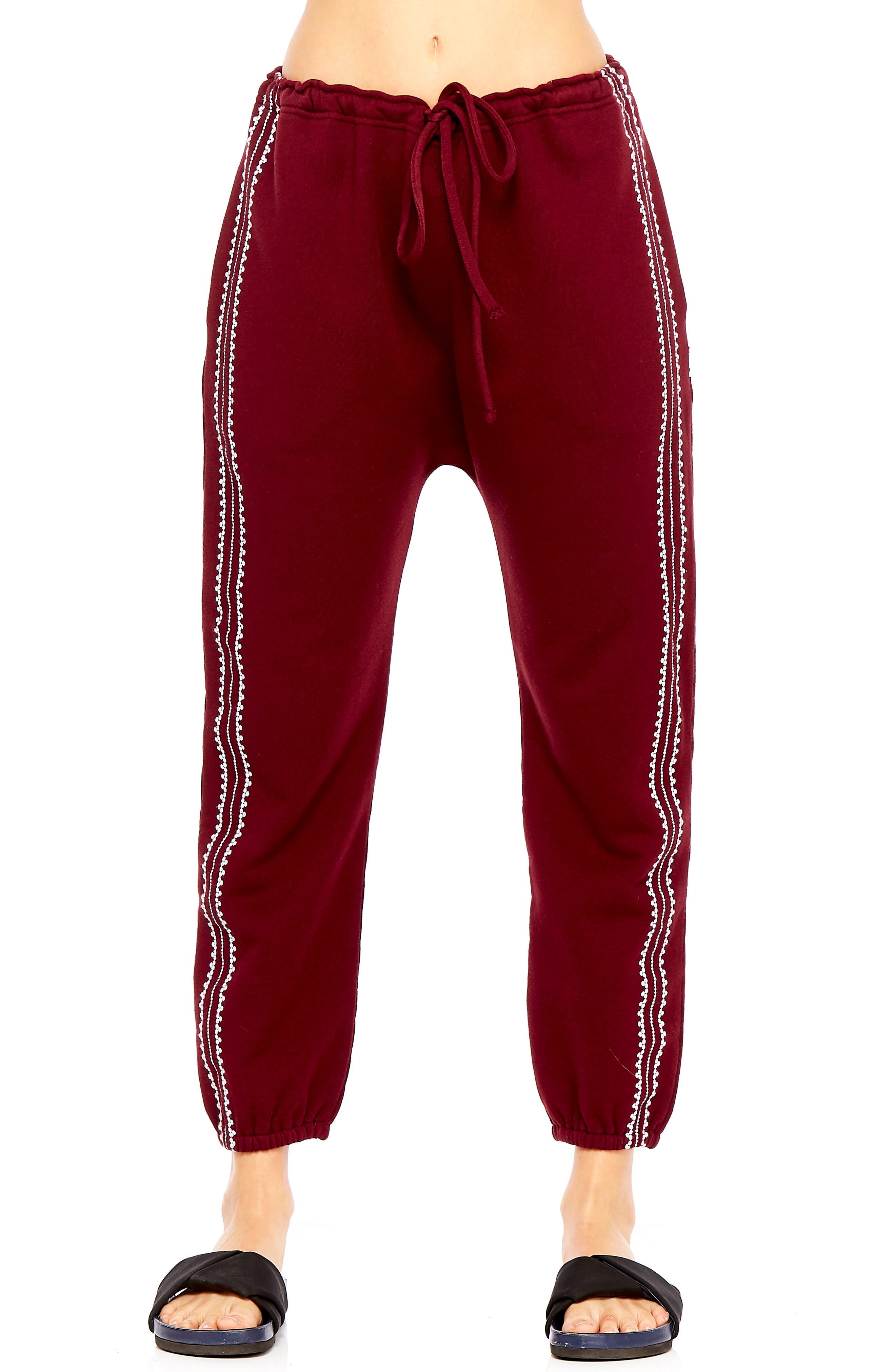 Phoenix Byron Track Pants,                         Main,                         color, MAROON
