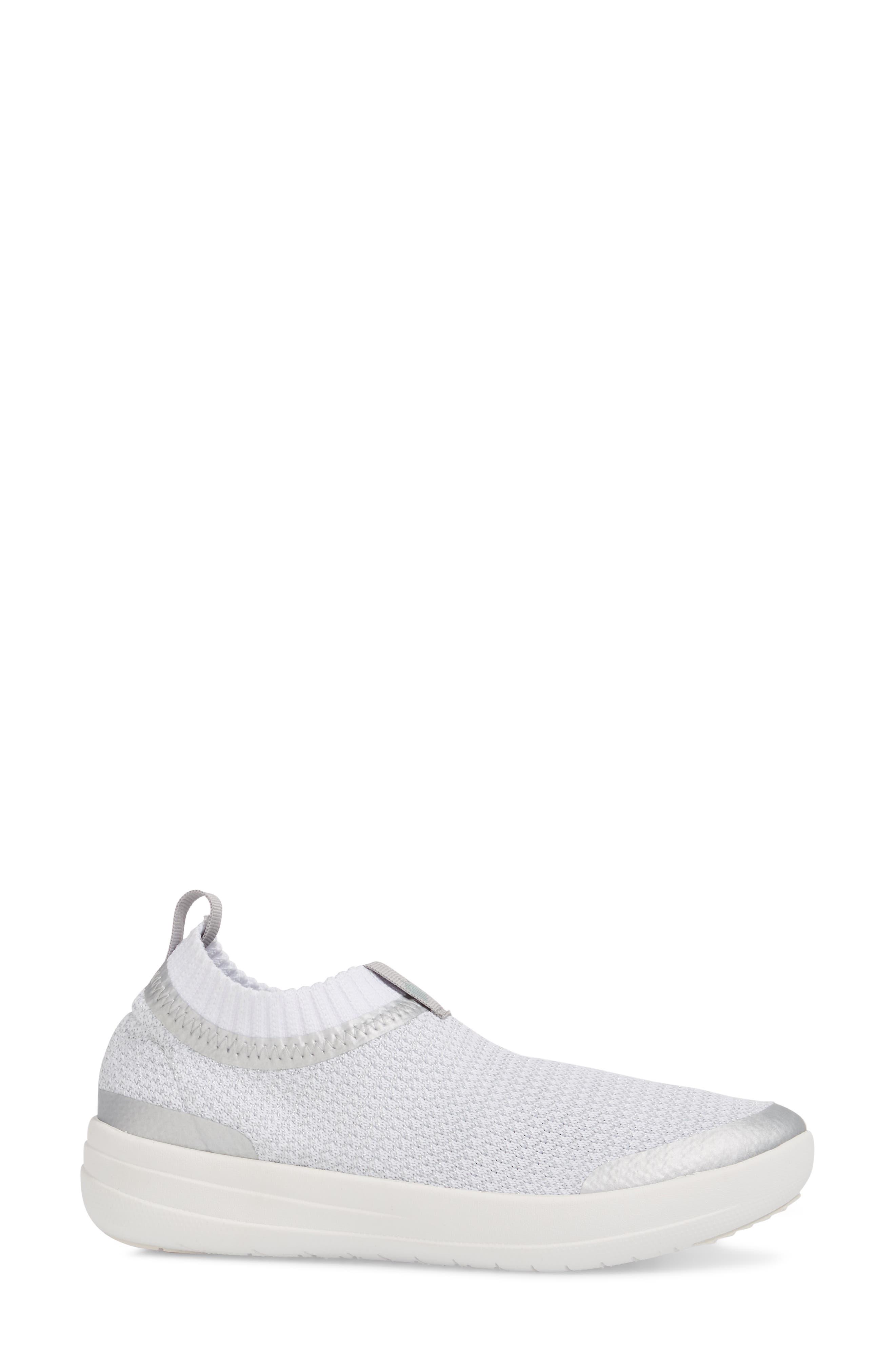 Uberknit Knit Sock Sneaker,                             Alternate thumbnail 3, color,                             040