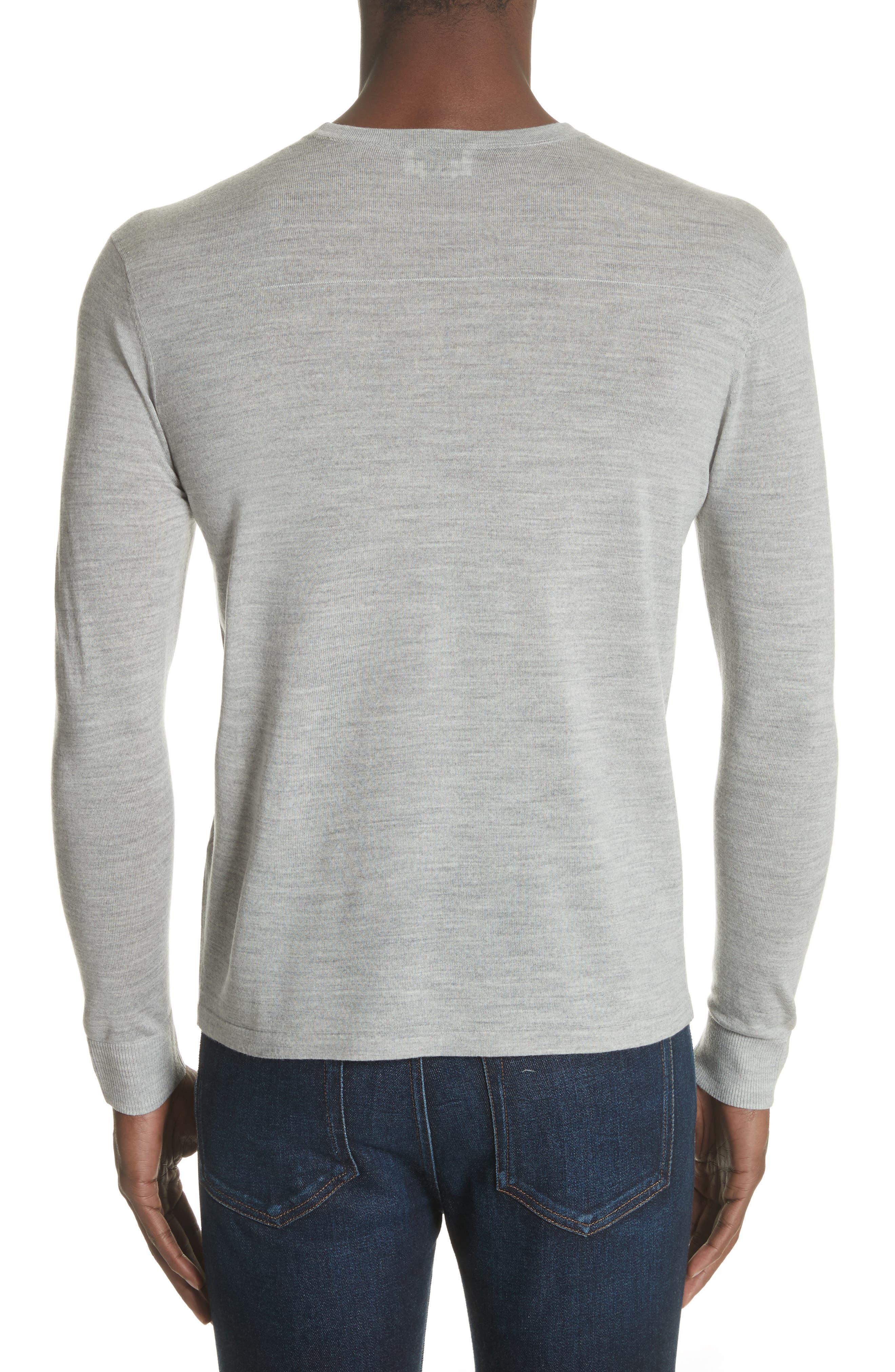 Nino Crewneck Wool Sweater,                             Alternate thumbnail 2, color,                             020