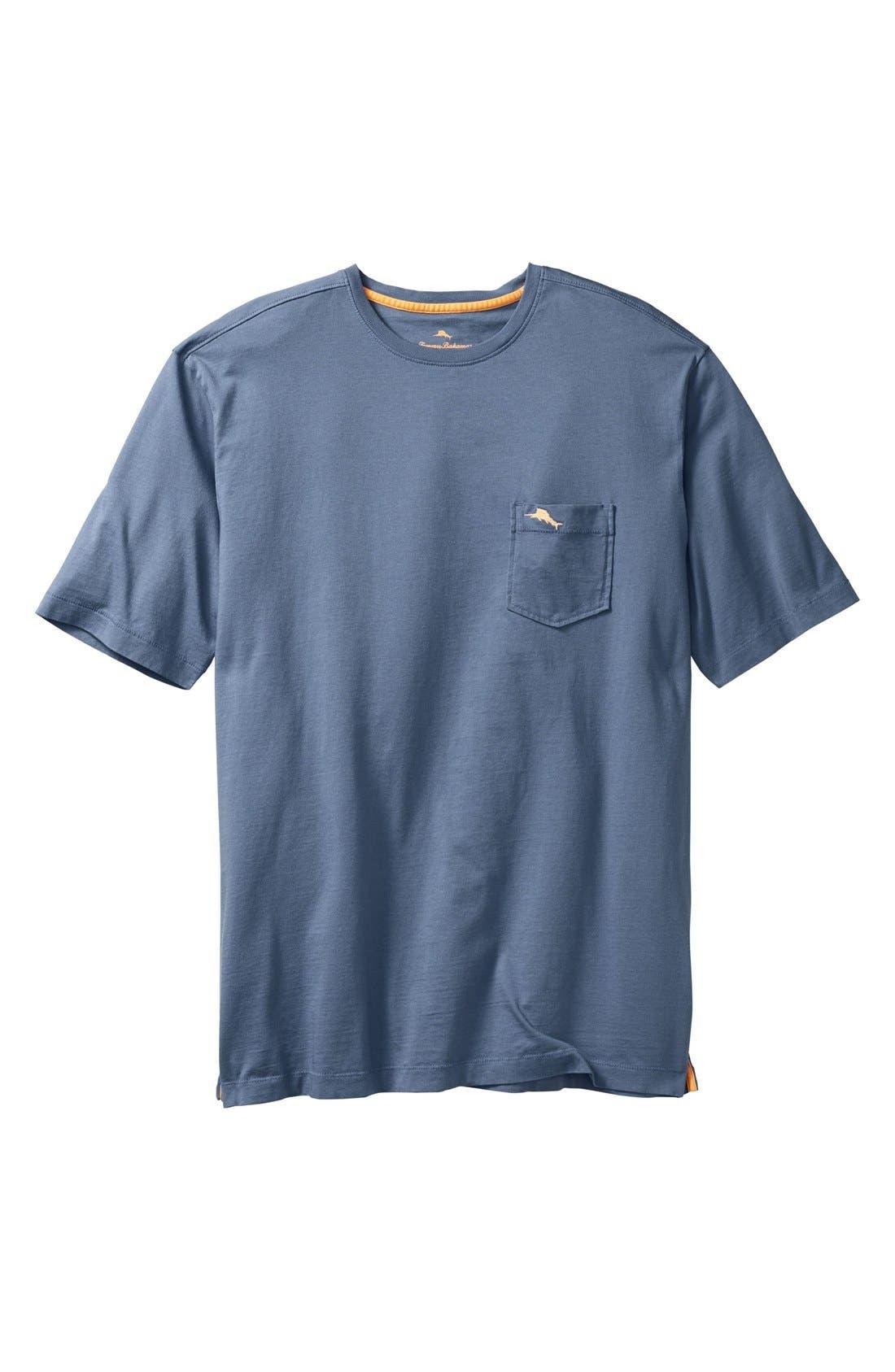 New Bali Sky Pima Cotton Pocket T-Shirt,                             Main thumbnail 25, color,