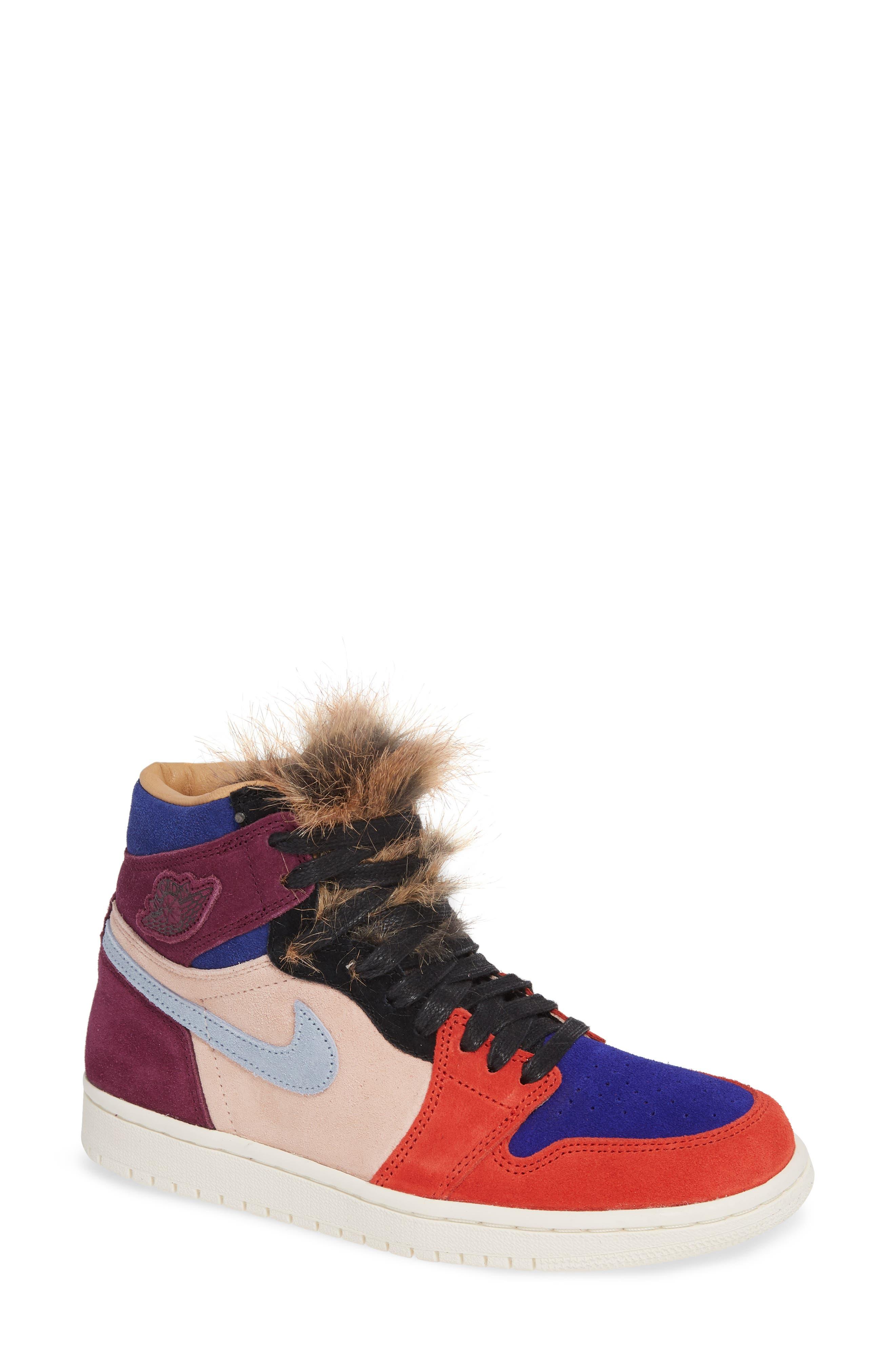 Nike Air Jordan 1 High OG Sneaker, Main, color, 600