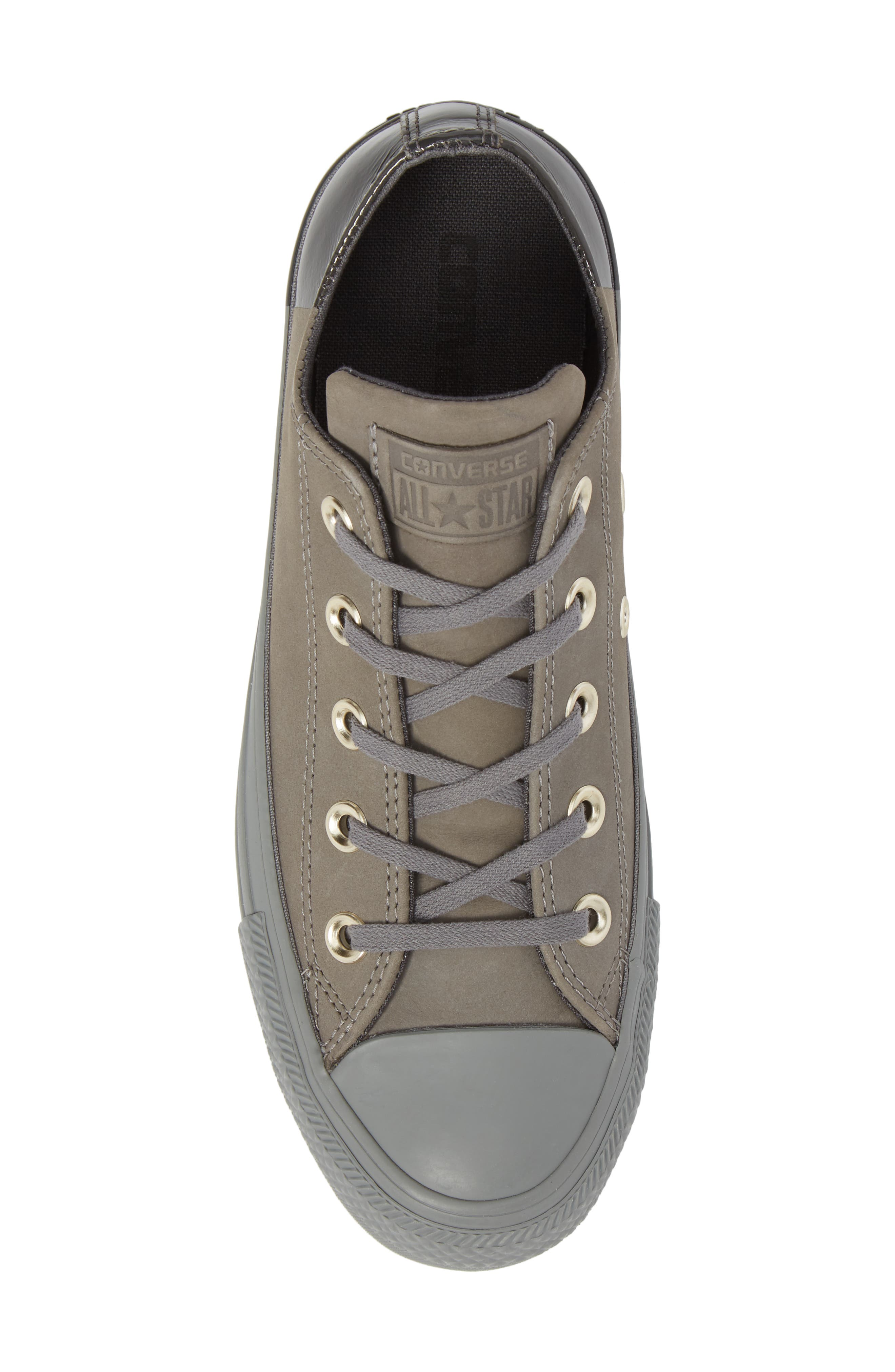 All Star<sup>®</sup> Nubuck OX Low Top Sneaker,                             Alternate thumbnail 5, color,                             028