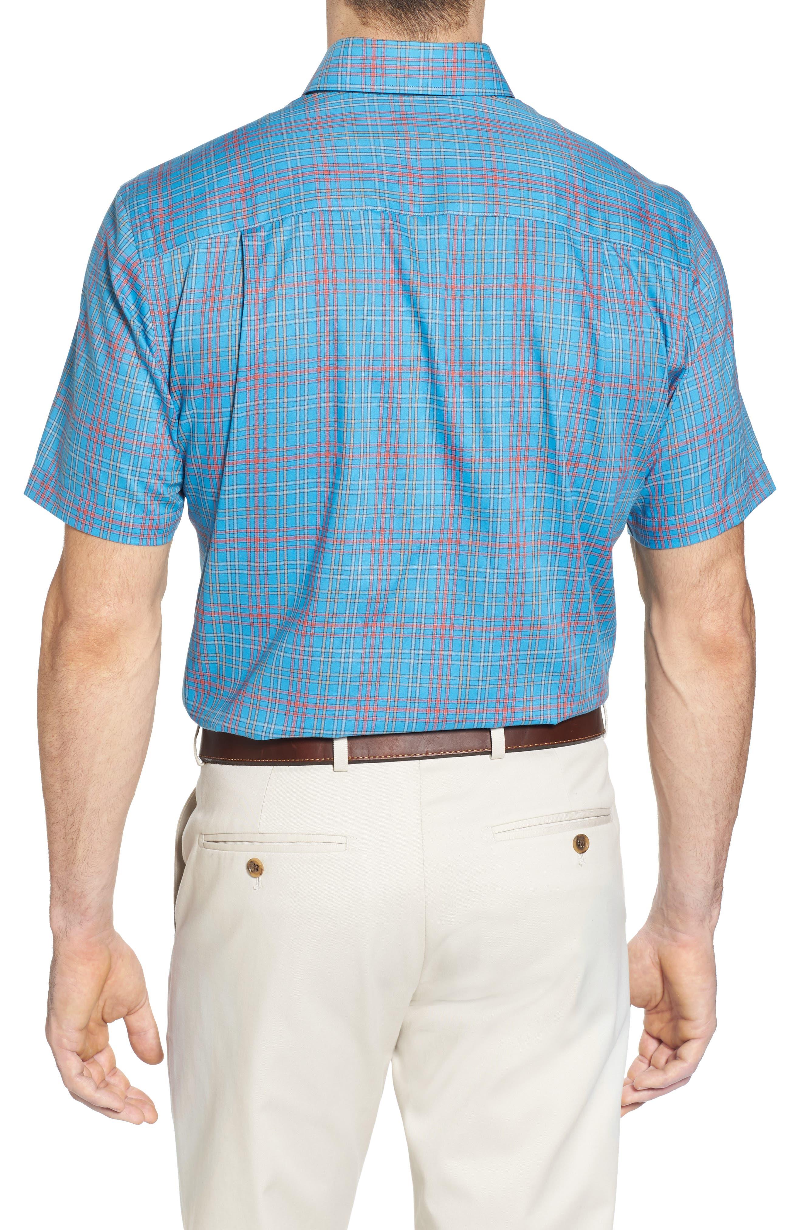 Isaac Plaid Easy Care Woven Shirt,                             Alternate thumbnail 6, color,