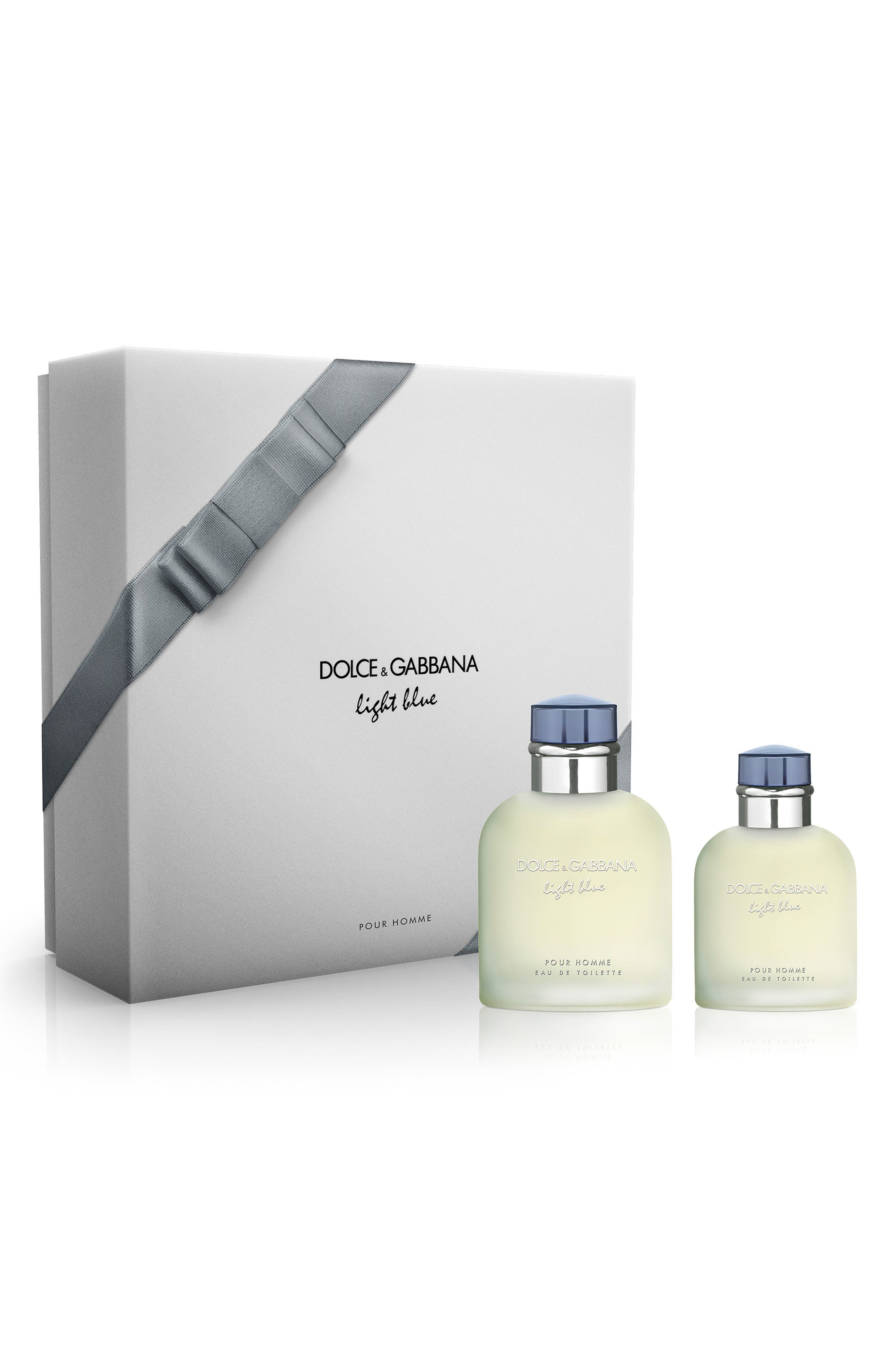 Dolce&Gabbana Light Blue pour Homme Set,                             Main thumbnail 1, color,                             000